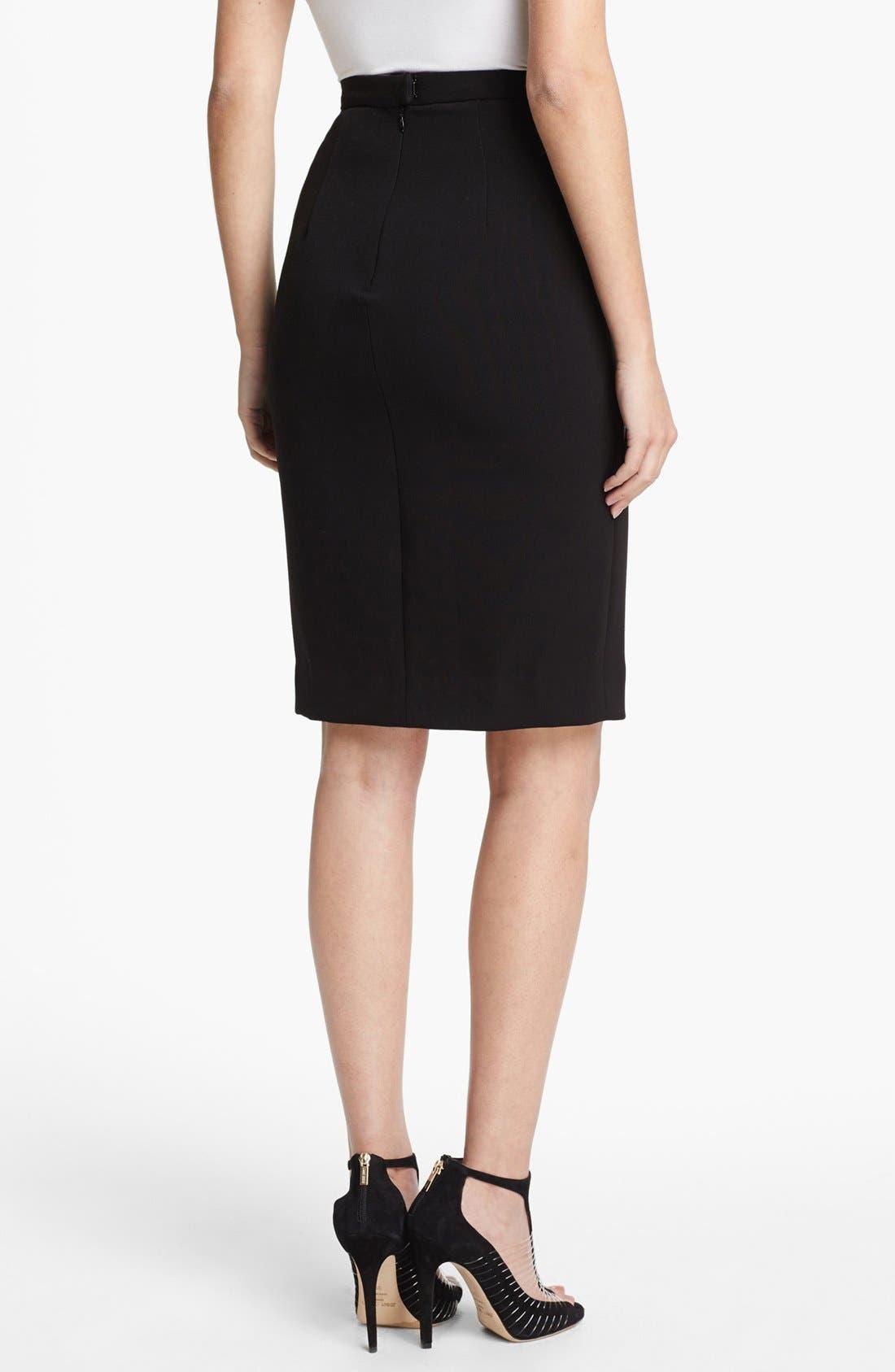Alternate Image 2  - L'AGENCE High Slit Pencil Skirt