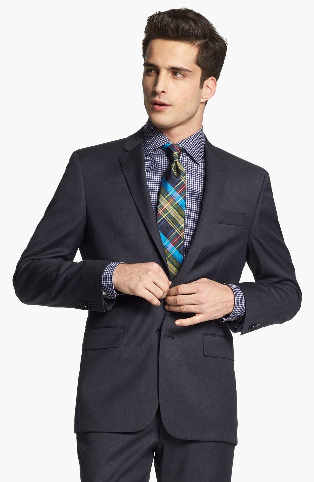 Alternate Image 4  - John Varvatos Star USA 'Townshend' Trim Fit Wool Suit