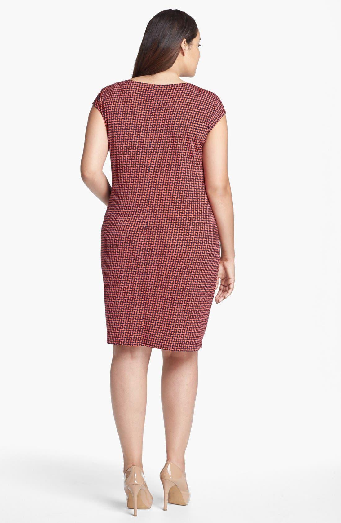 Alternate Image 2  - MICHAEL Michael Kors Knotted Twist Dress (Plus Size)