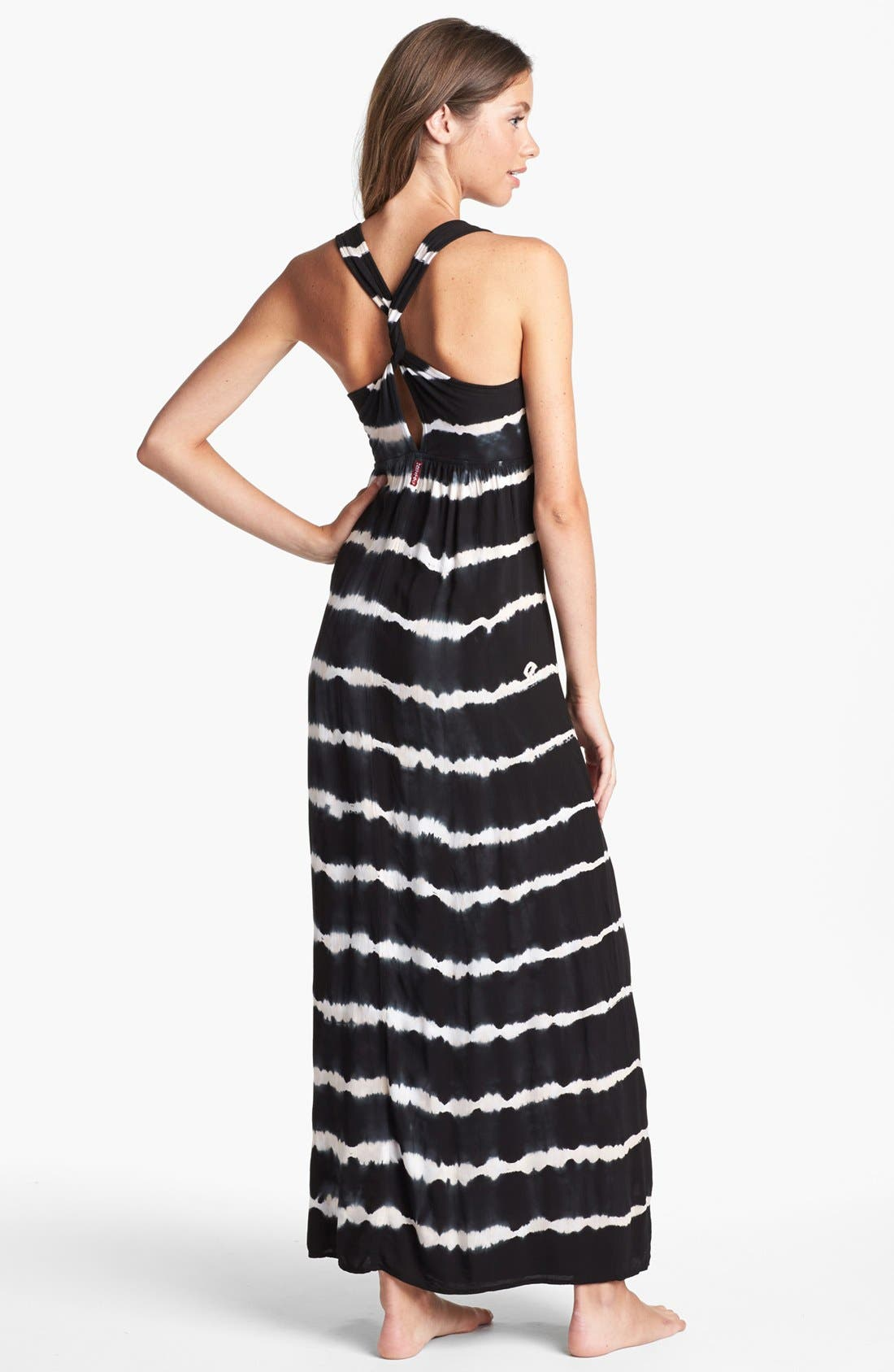 Alternate Image 2  - Hard Tail Twisty Back Maxi Dress (Online Only)