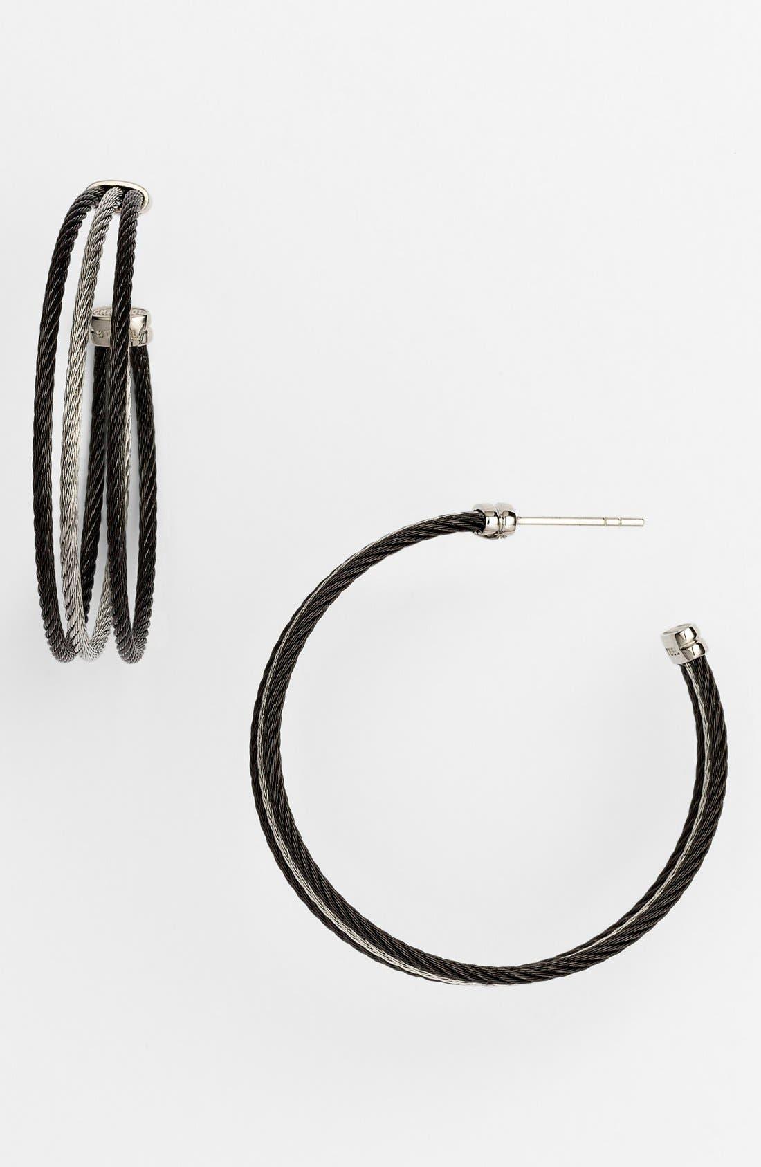 Alternate Image 1 Selected - ALOR® Hoop Earrings