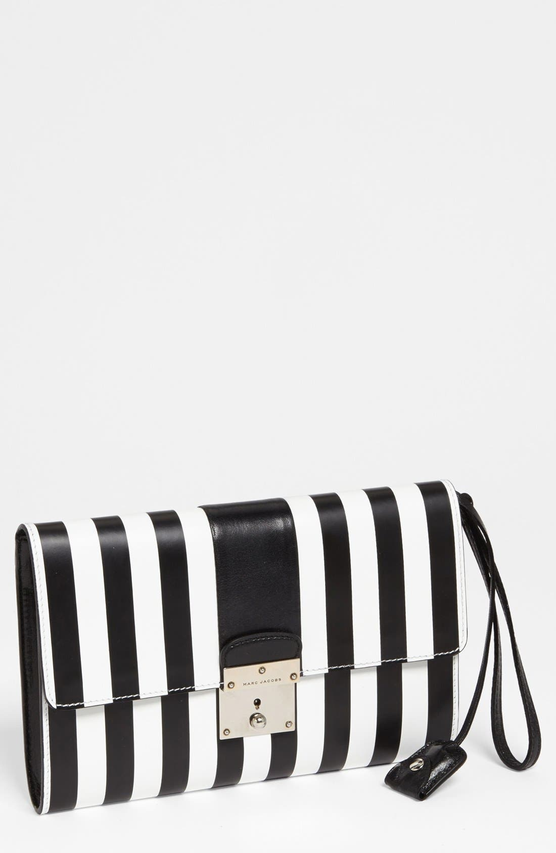 Main Image - MARC JACOBS 'Prisoners Isobel' Leather Clutch