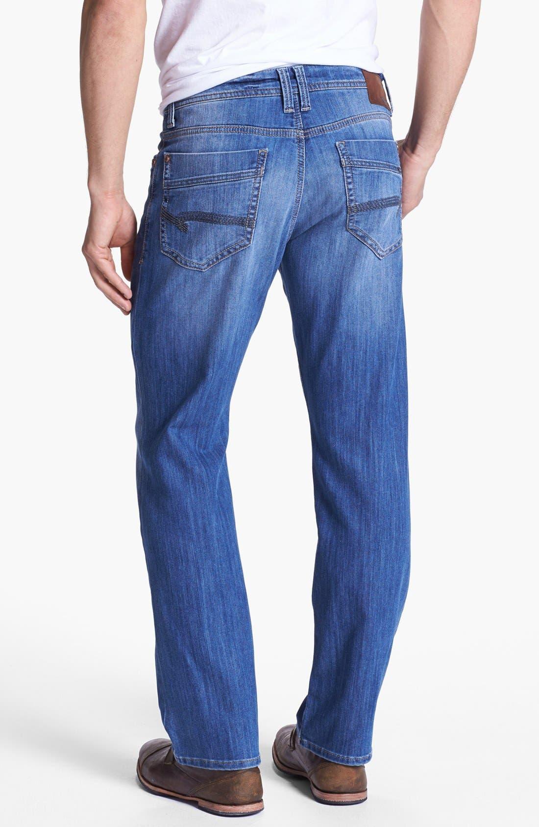Alternate Image 1 Selected - Mavi Jeans 'Matt' Relaxed Leg Jeans (Light Cooper)