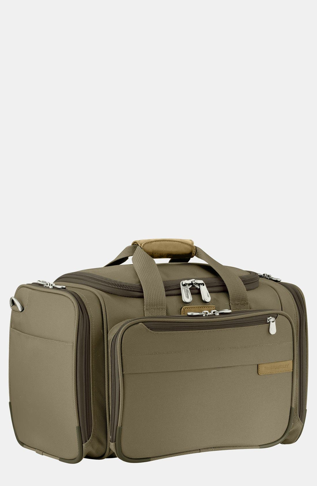 'Baseline - Deluxe' Duffel Bag,                             Main thumbnail 1, color,                             Olive