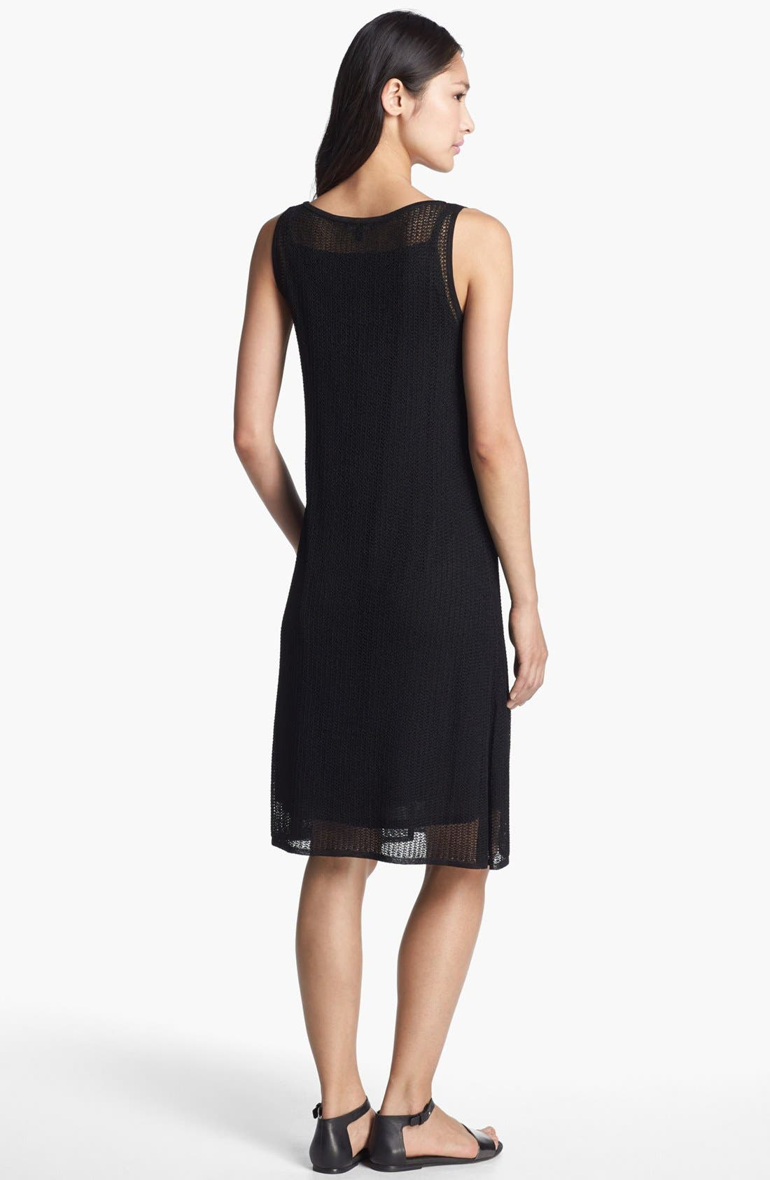 Alternate Image 2  - Eileen Fisher Mesh Knit Dress