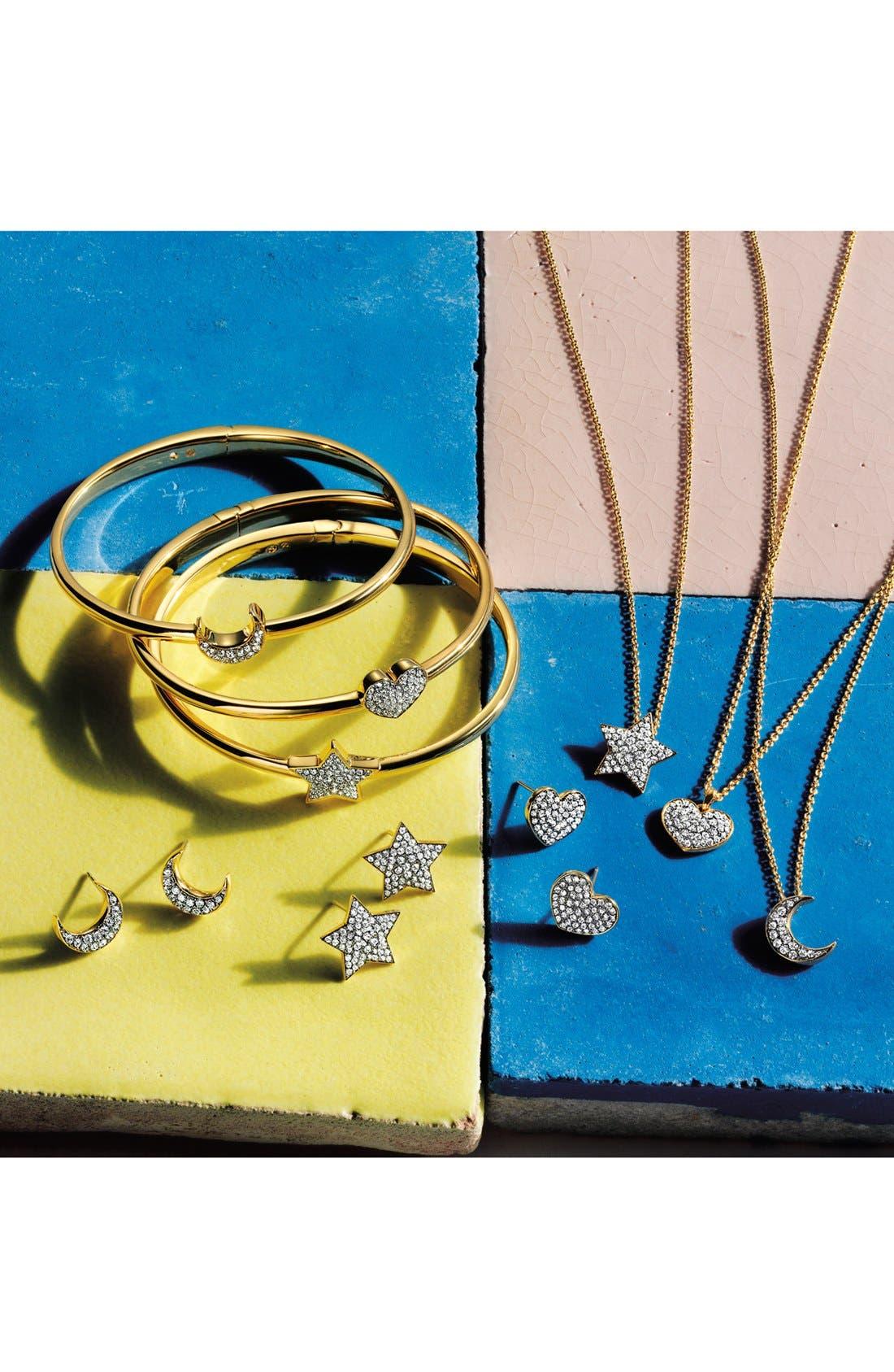 Alternate Image 3  - Nadri 'Charmers' Pavé Symbol Pendant Necklace (Nordstrom Exclusive)