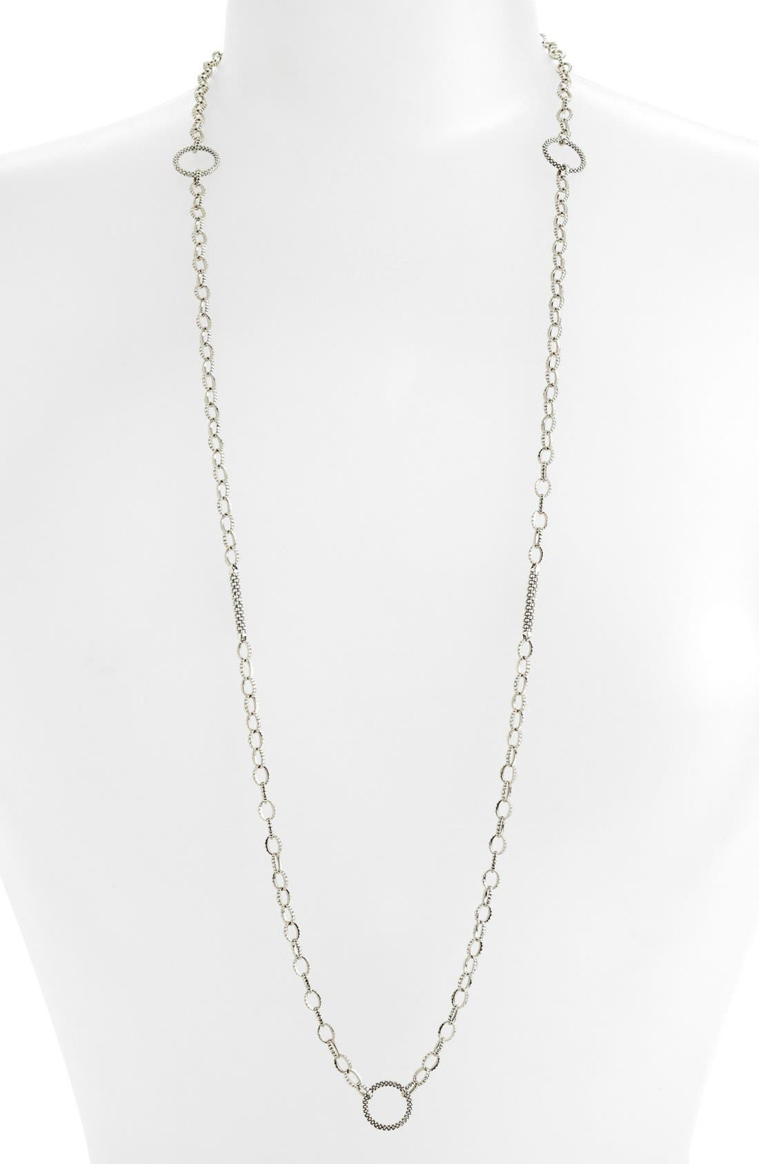 Alternate Image 1 Selected - LAGOS Caviar Link Long Strand Necklace
