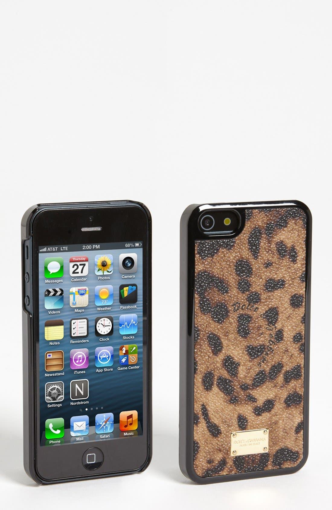 Alternate Image 1 Selected - Dolce&Gabbana iPhone 5 Case