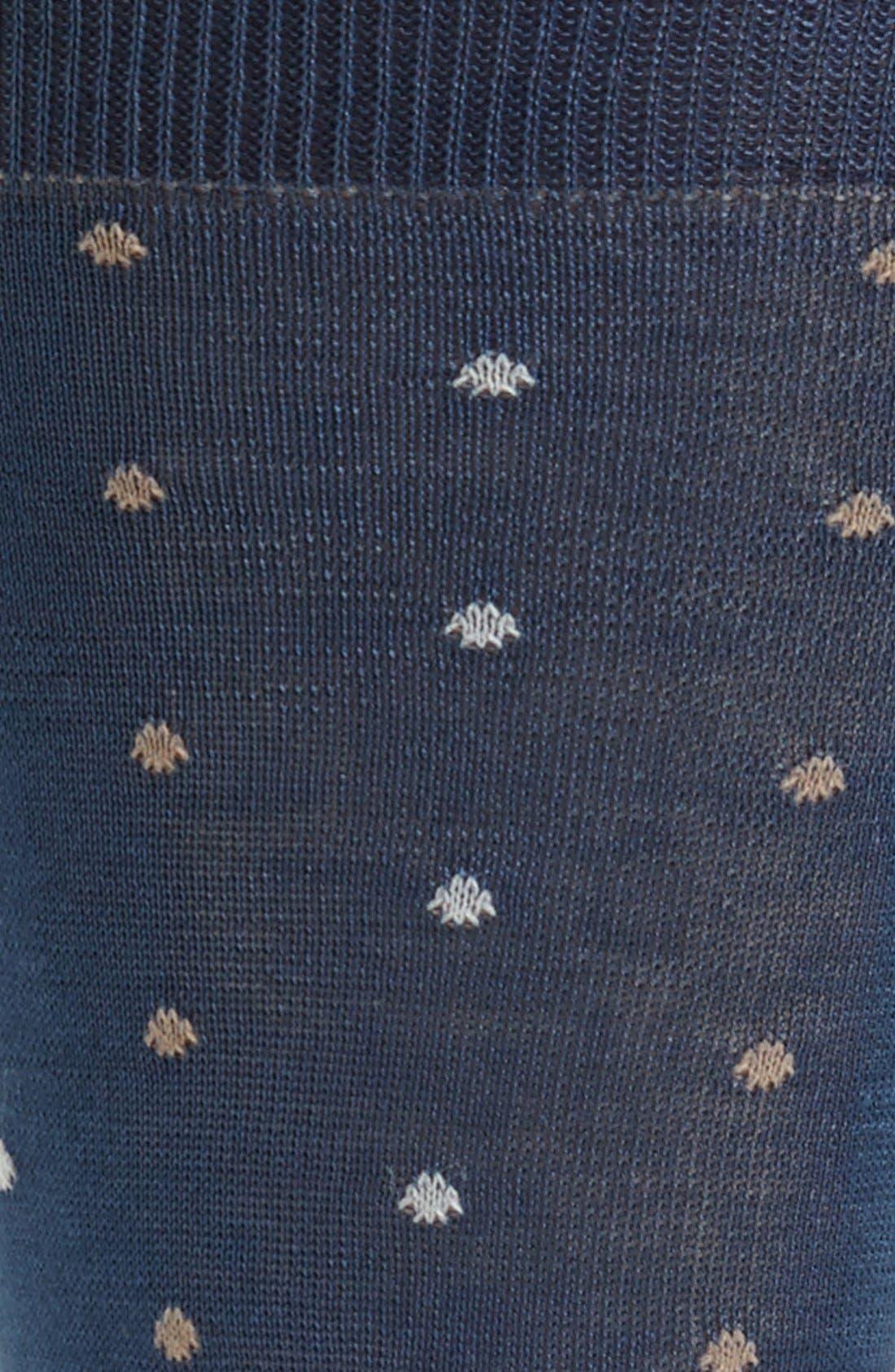 Alternate Image 2  - Canali Dot Socks