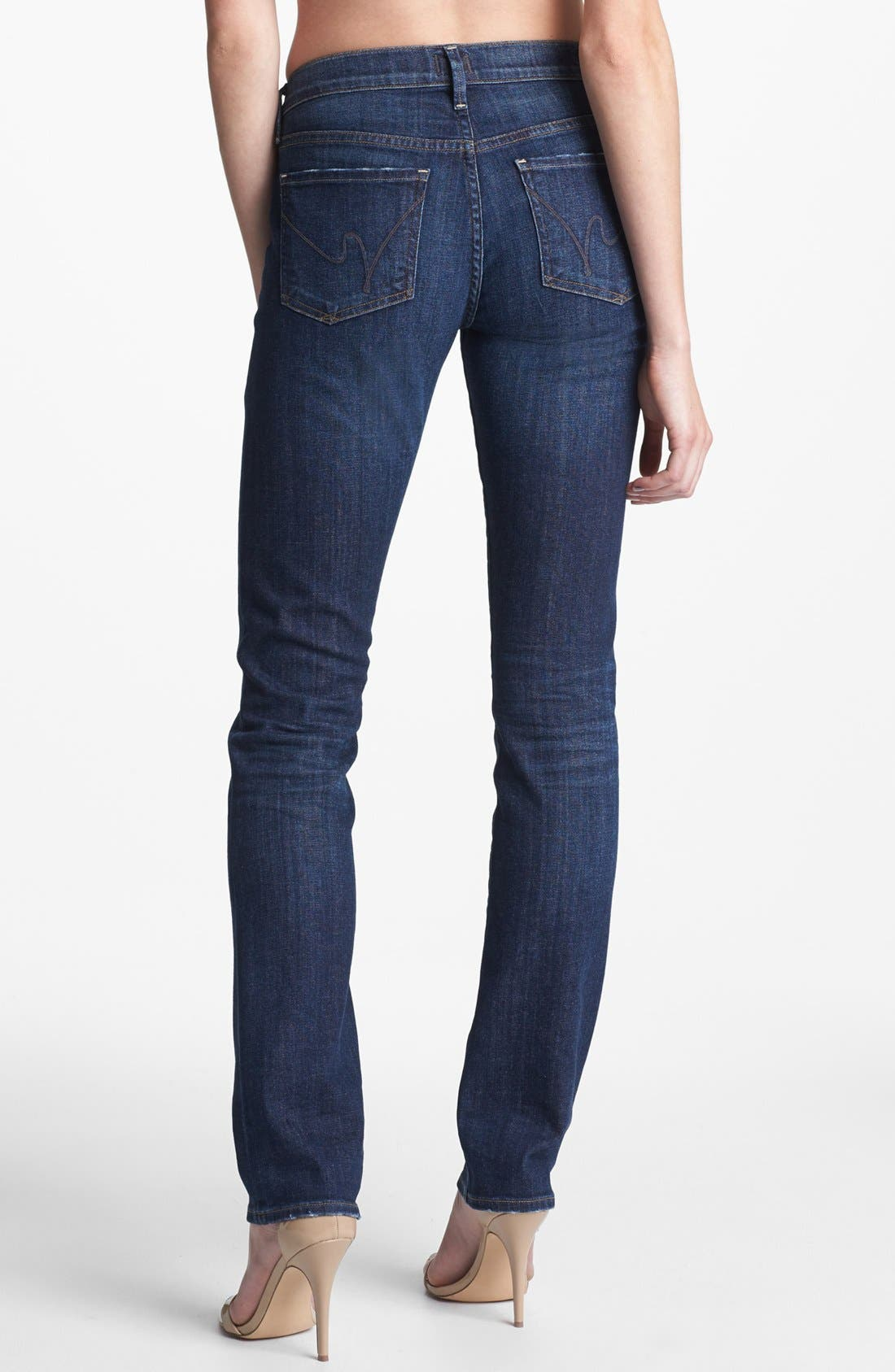 Alternate Image 2  - Citizens of Humanity 'Ava' Straight Leg Jeans (Meteor)