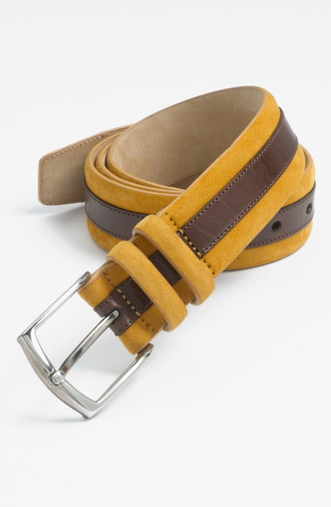Alternate Image 1 Selected - Mezlan 'Parma' Suede Belt