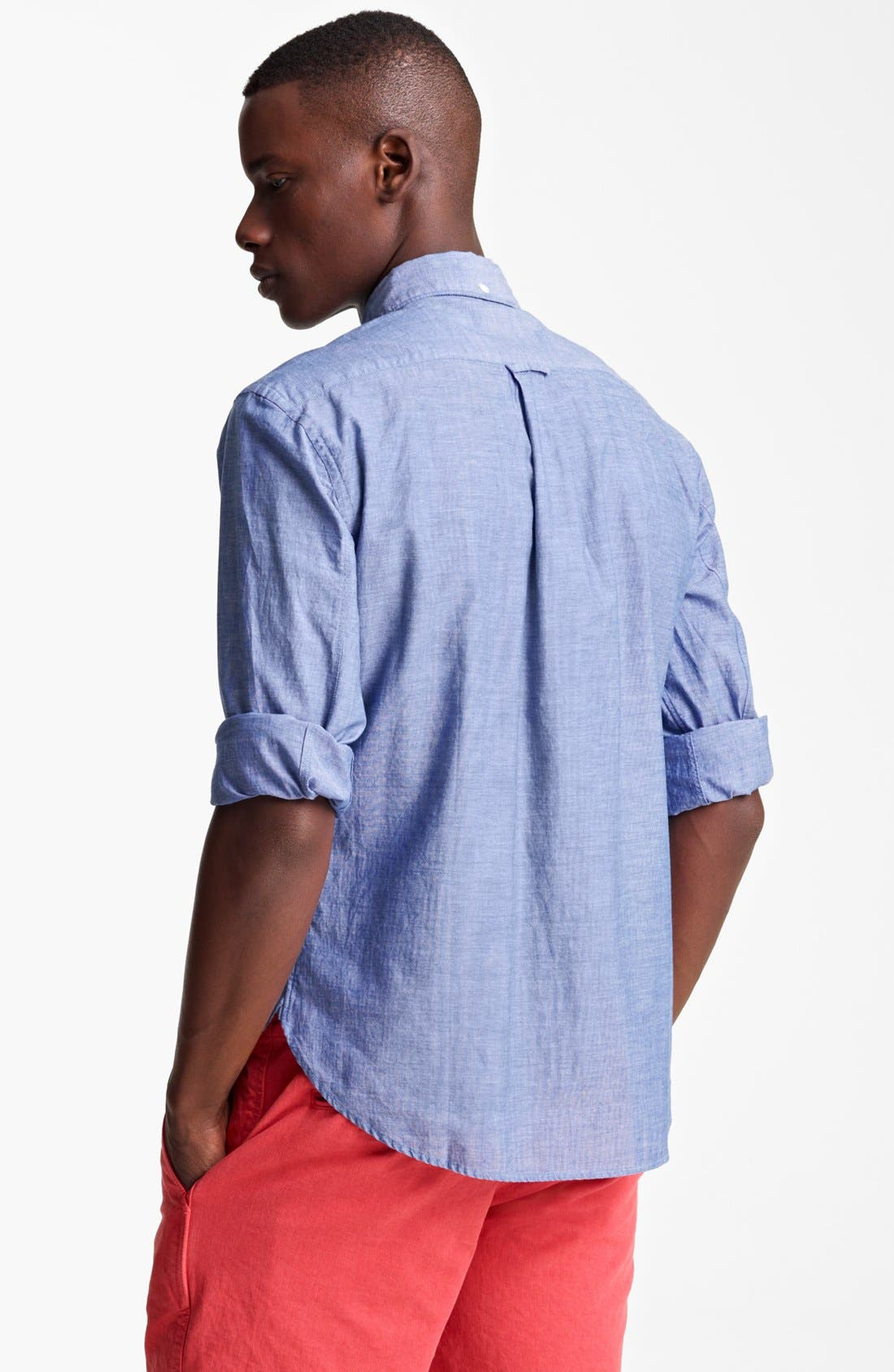 Alternate Image 2  - Todd Snyder Chambray Sport Shirt