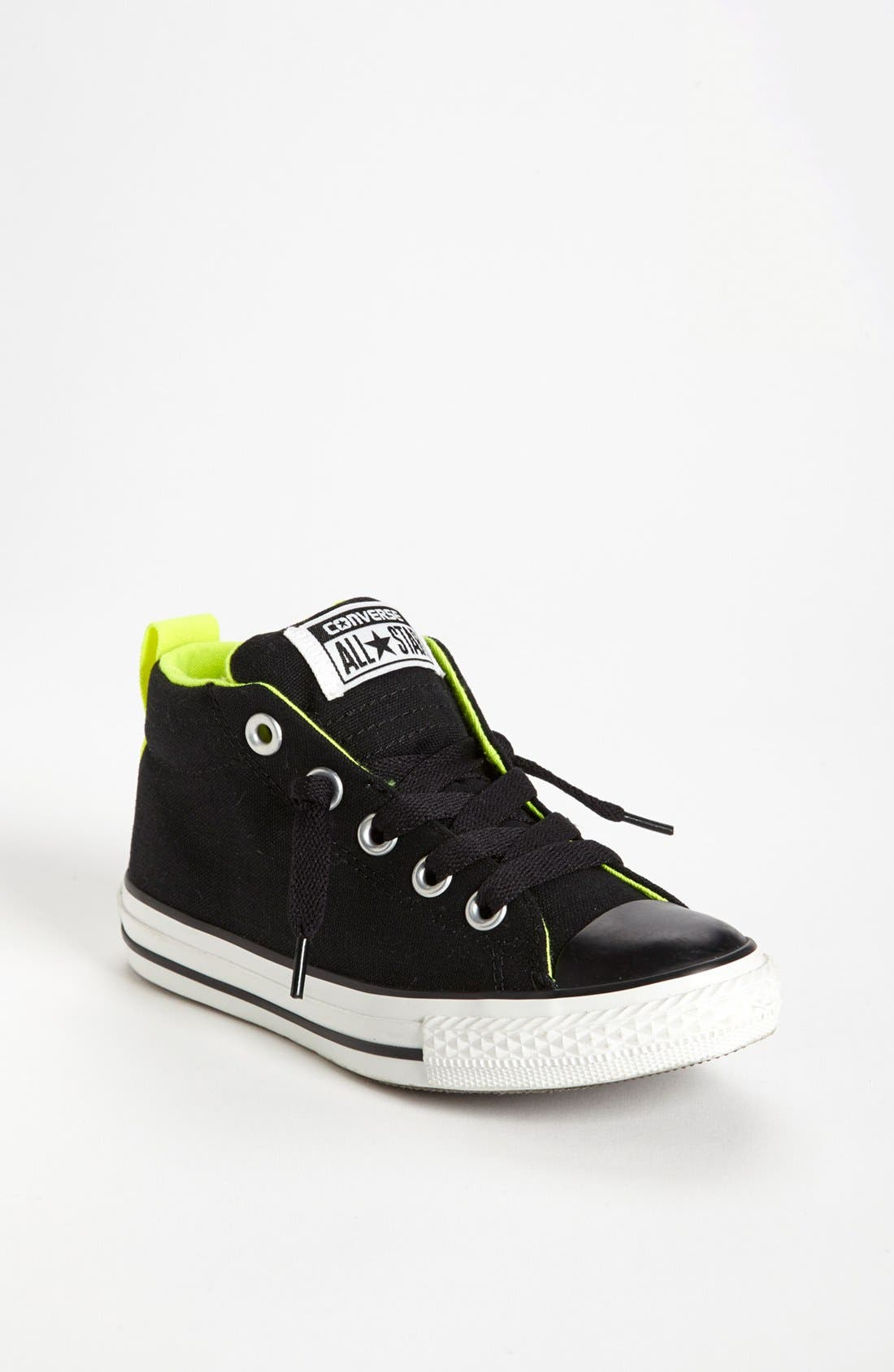 Main Image - Converse Chuck Taylor® 'Street Mid Cab' Slip-On Sneaker (Toddler, Little Kid & Big Kid)