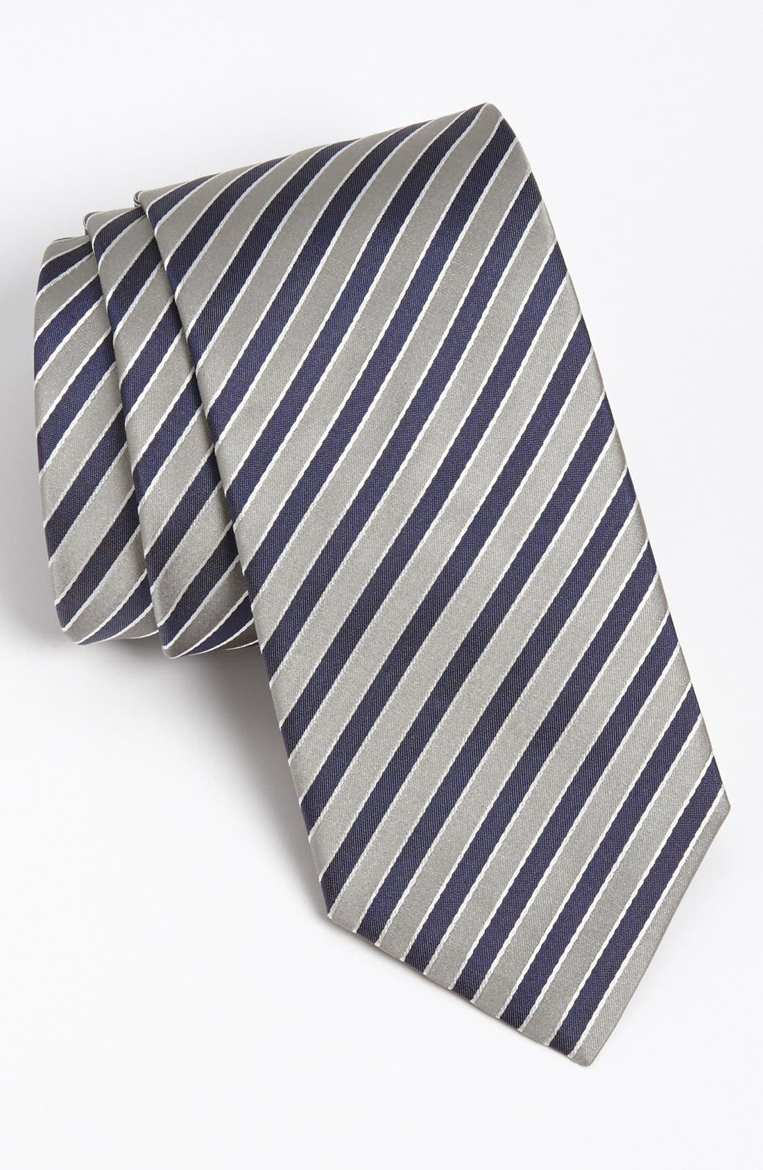 Alternate Image 1 Selected - BOSS HUGO BOSS Woven Silk Tie