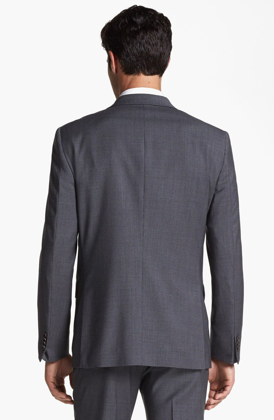 Alternate Image 3  - John Varvatos Star USA 'Townshend' Trim Fit Check Sportcoat