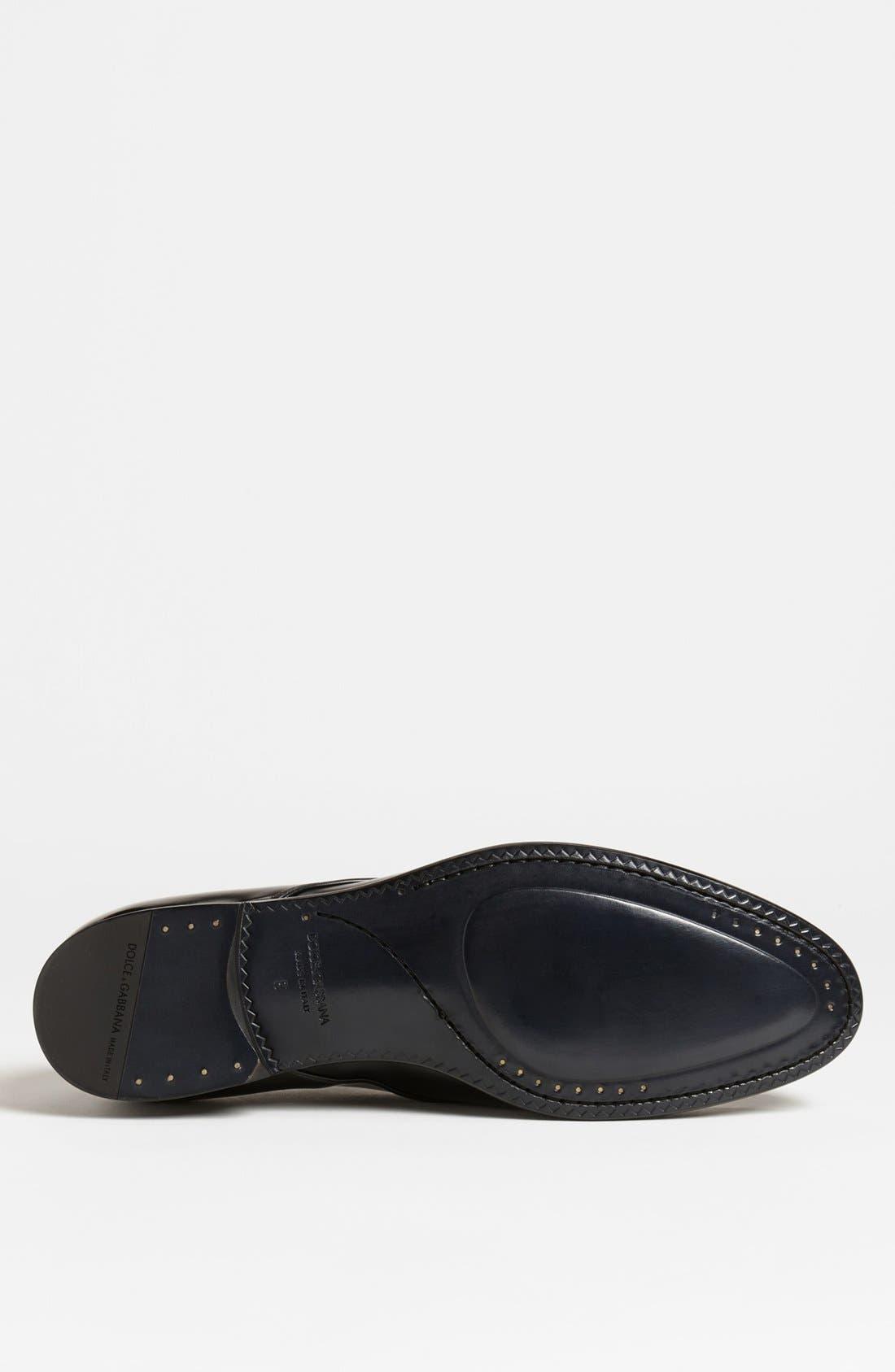 Alternate Image 4  - Dolce&Gabbana 'Napoli' Plain Toe Derby