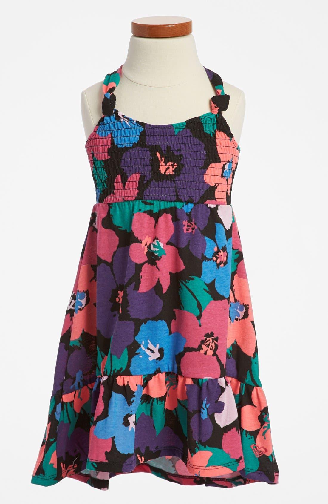 Main Image - Roxy 'Sweet Summertime' Dress (Little Girls)