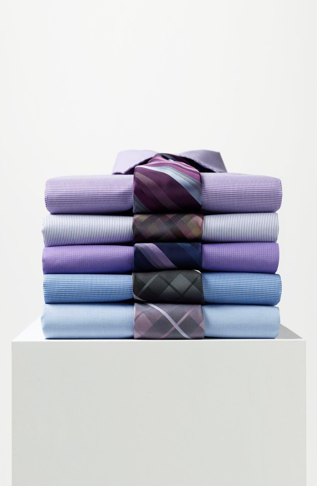 Alternate Image 3  - Calvin Klein Woven Silk Tie