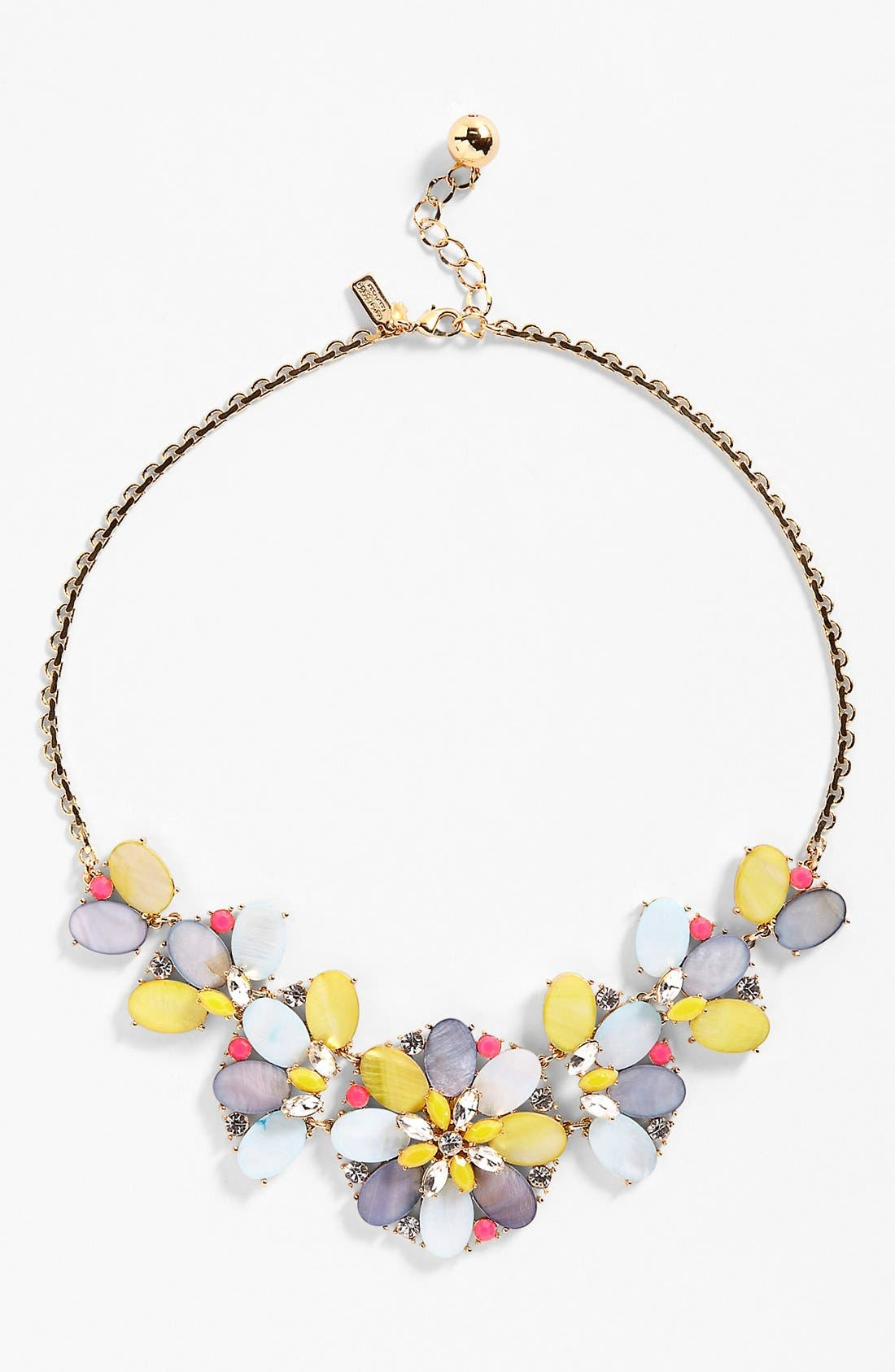 Main Image - kate spade new york 'bungalow bouquet' bib necklace
