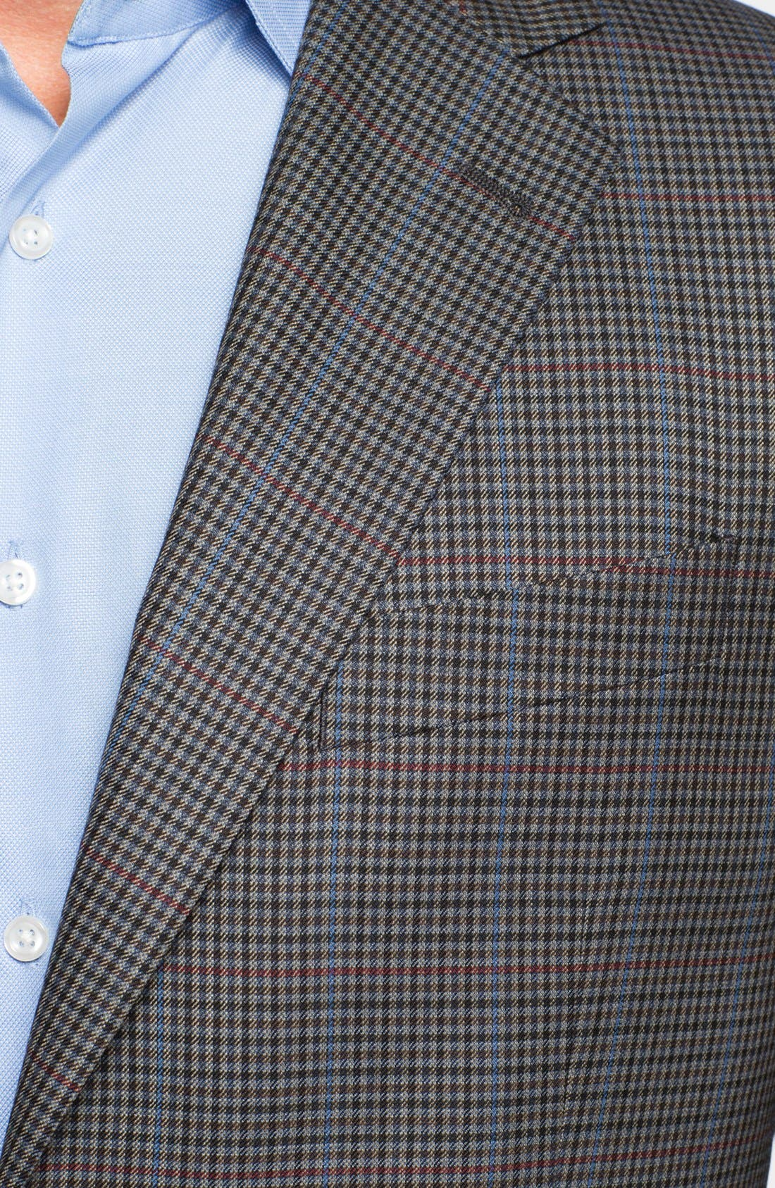 Alternate Image 2  - Joseph Abboud 'Signature Silver' Check Wool Sportcoat