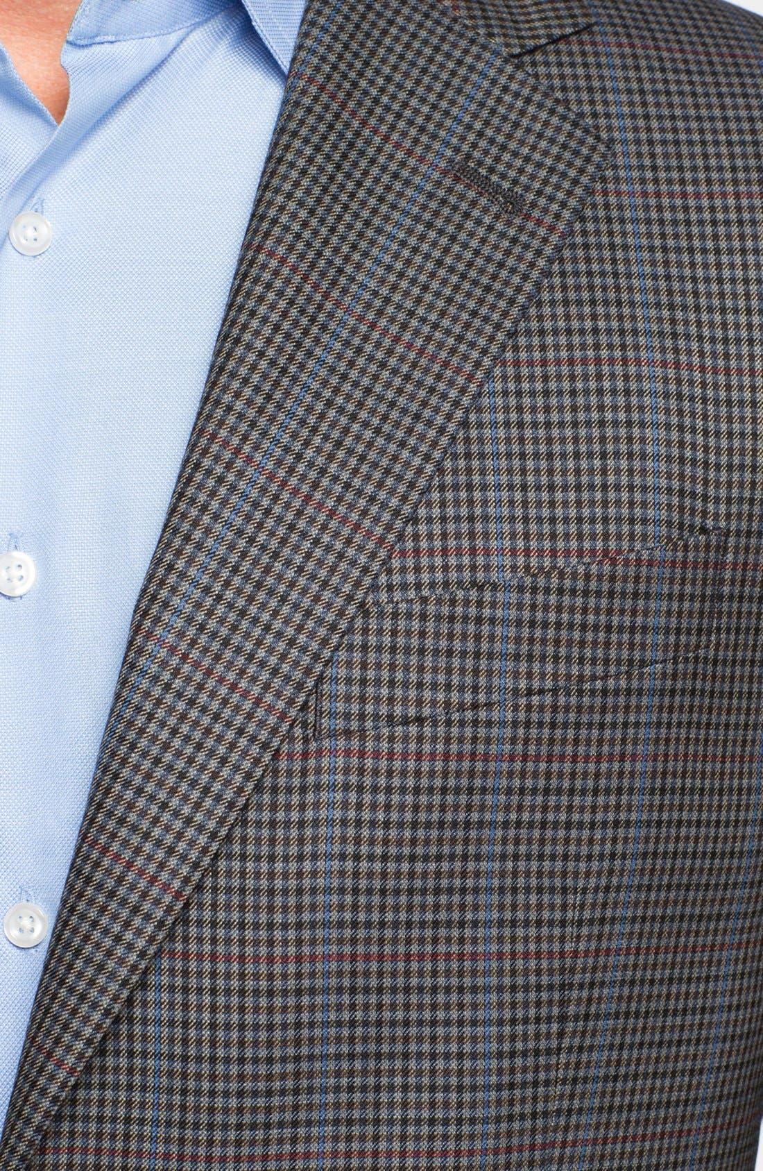 Alternate Image 2  - Joseph Abboud 'Signature Silver' Check Wool Sportcoat