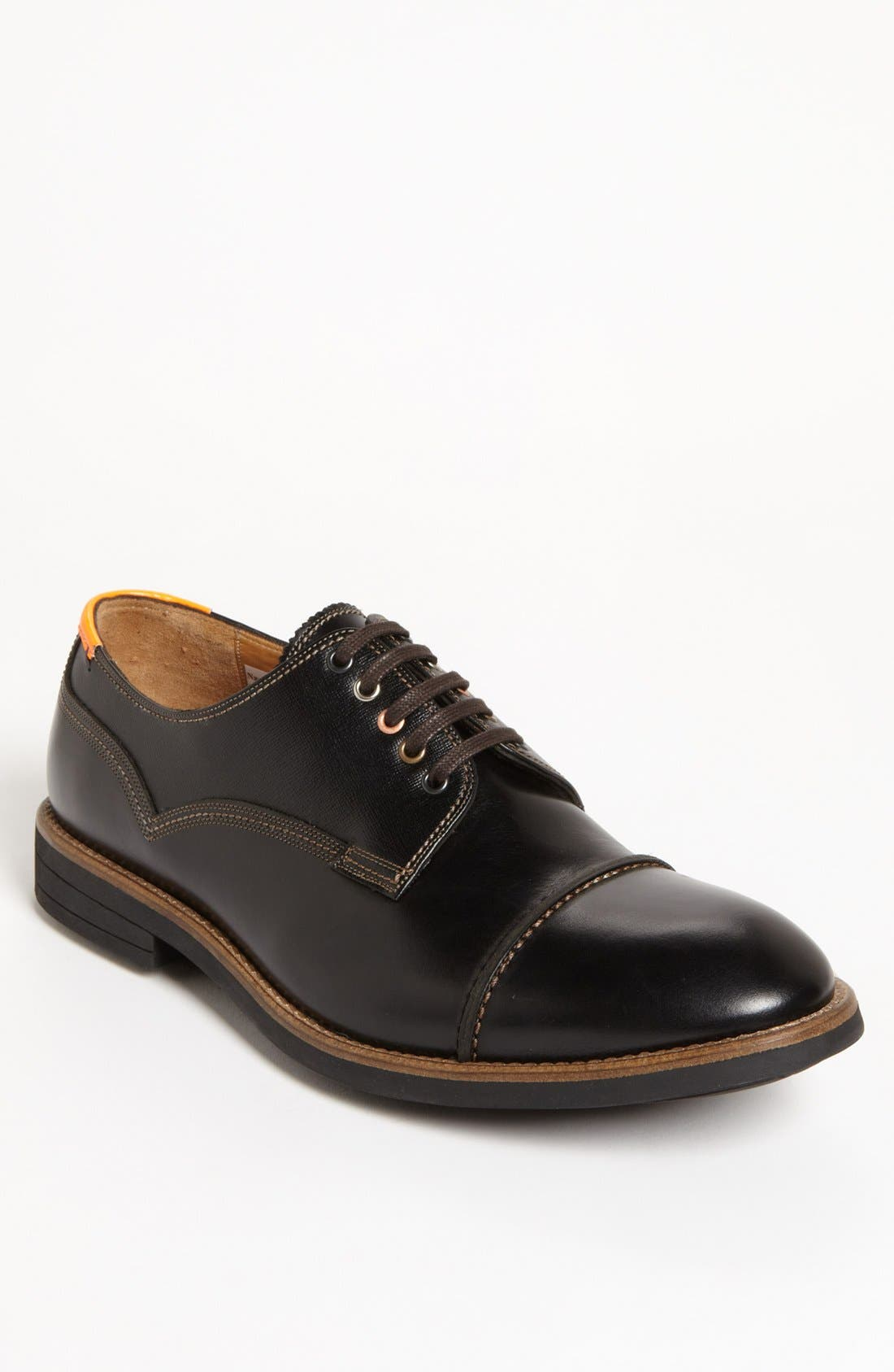Main Image - Paul Smith 'Skull' Cap Toe Derby