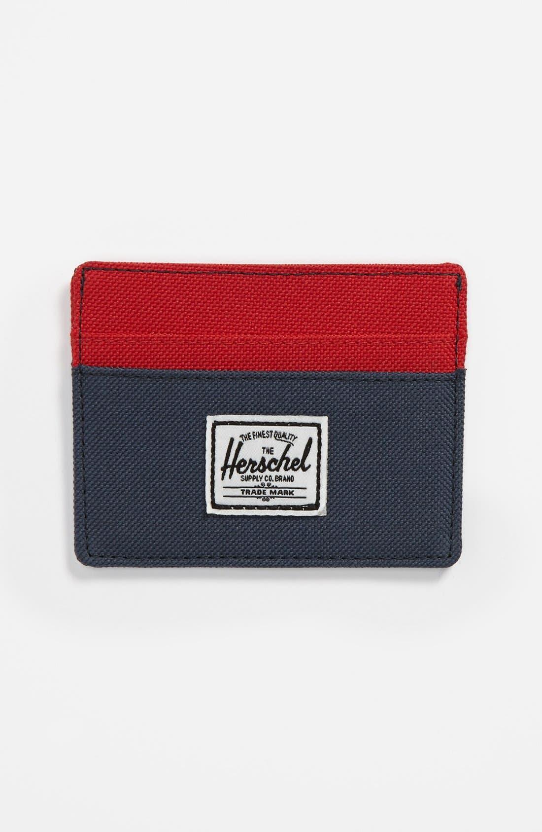 Main Image - Herschel Supply Co. 'Charlie' Card Case