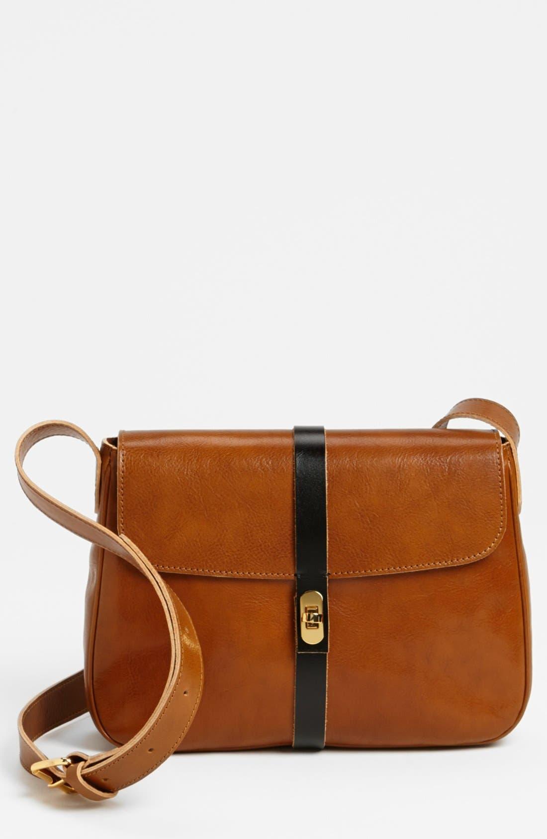 Alternate Image 1 Selected - Marni Leather Crossbody Bag