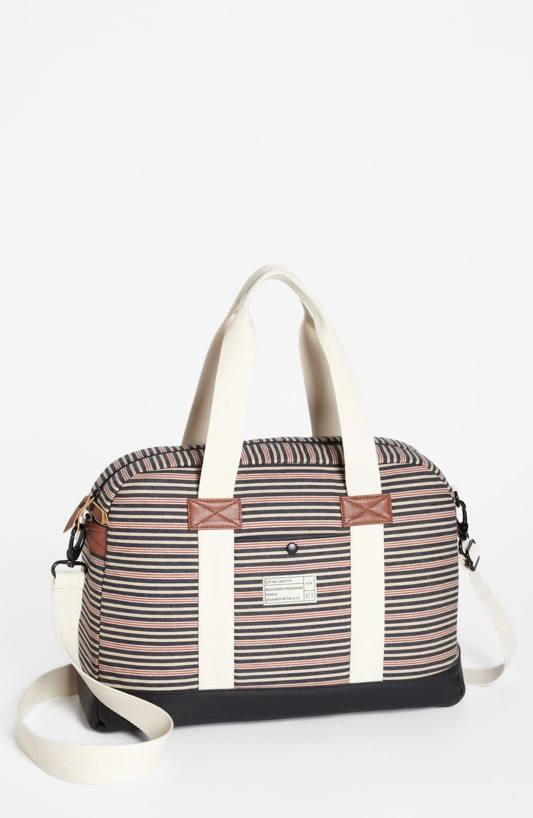 Alternate Image 1 Selected - HEX 'Cabana Stripe' Laptop Duffle (15 Inch)