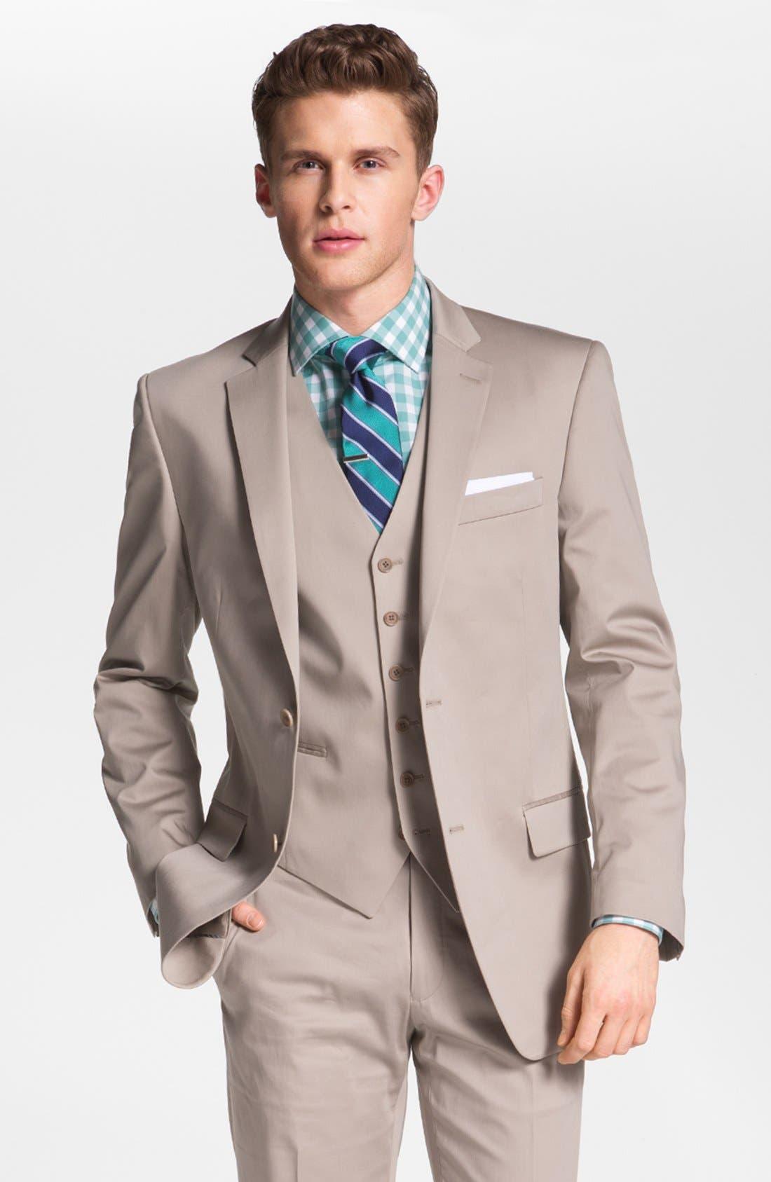 Main Image - John Varvatos Star USA 'Loft' Trim Fit Sportcoat