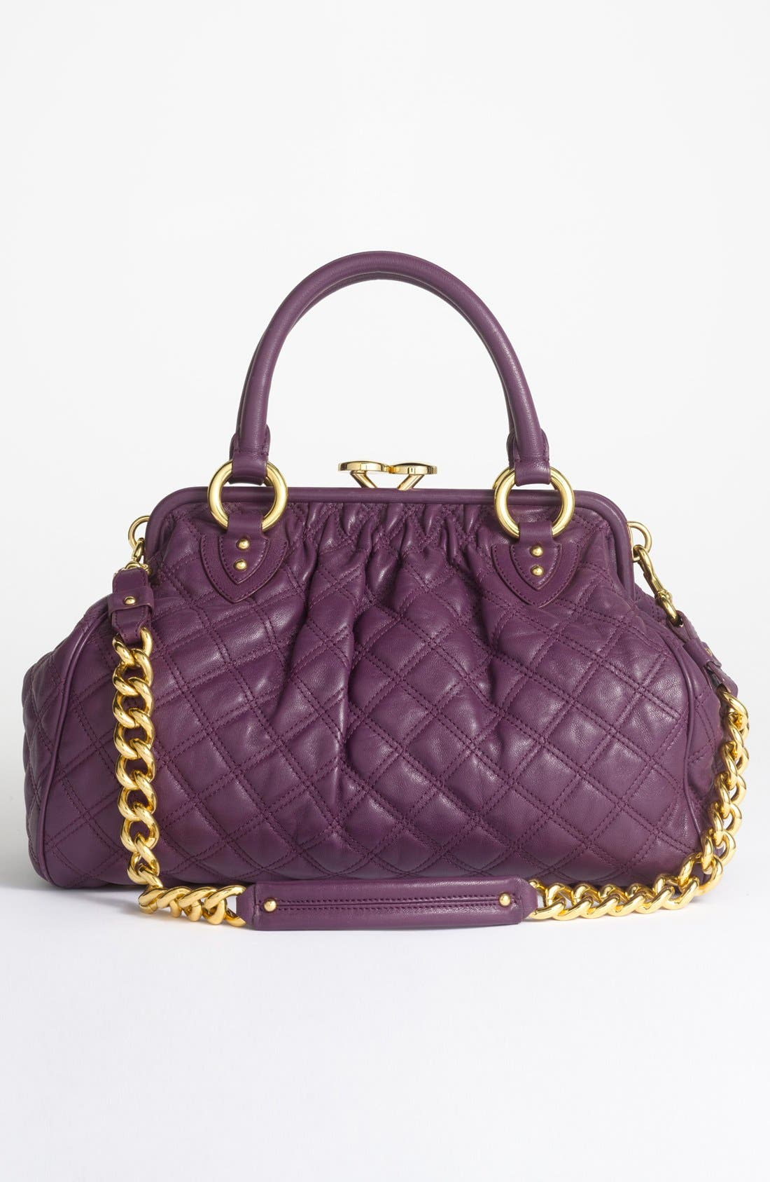 Alternate Image 6  - MARC JACOBS 'Quilting Stam' Leather Satchel