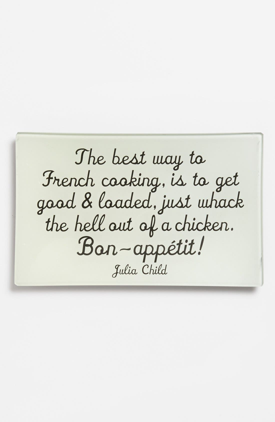 Main Image - Ben's Garden 'The Best Way to French Cooking' Trinket Tray