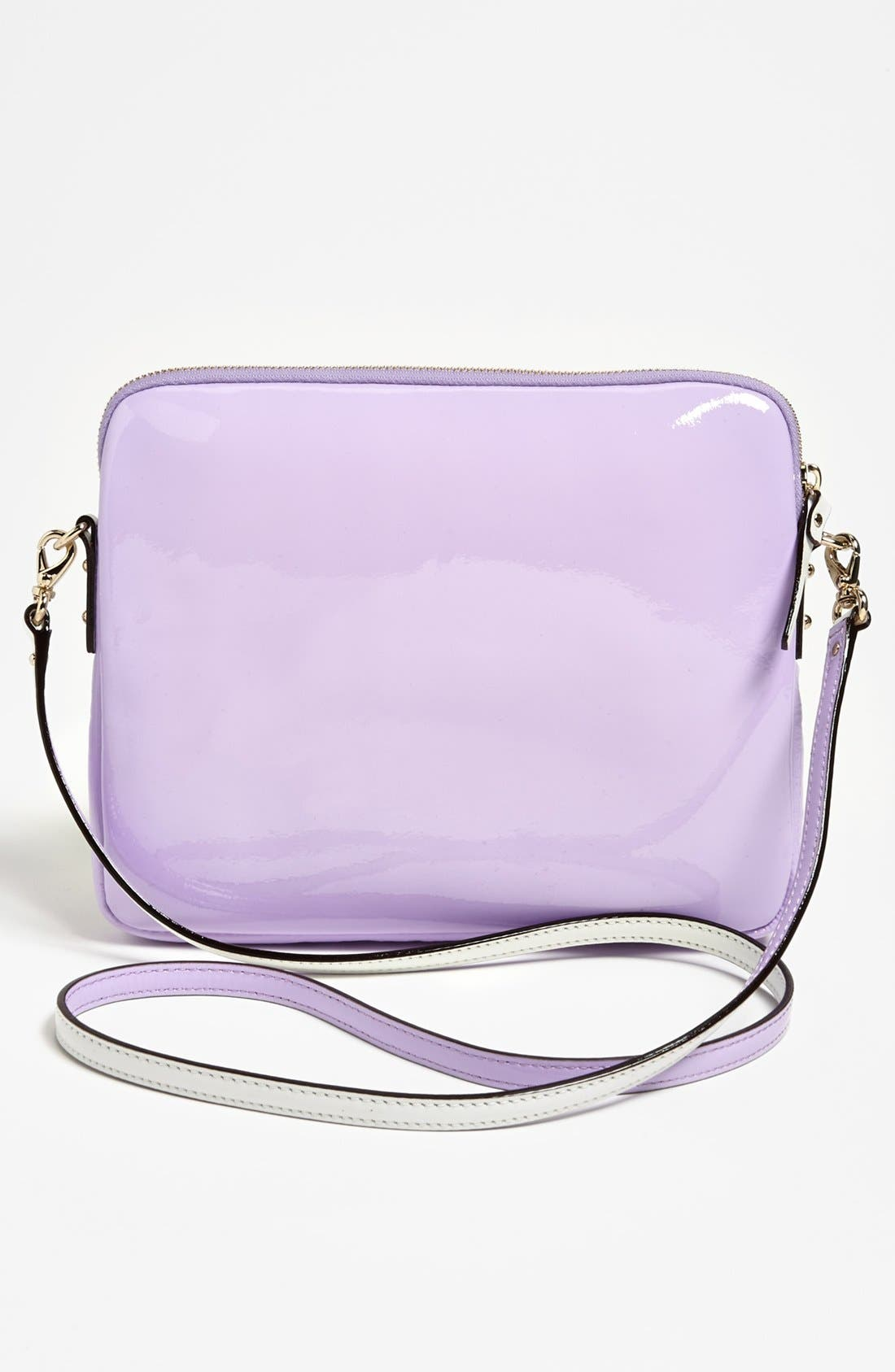 Alternate Image 3  - kate spade new york 'bryce - flicker' patent leather iPad crossbody bag