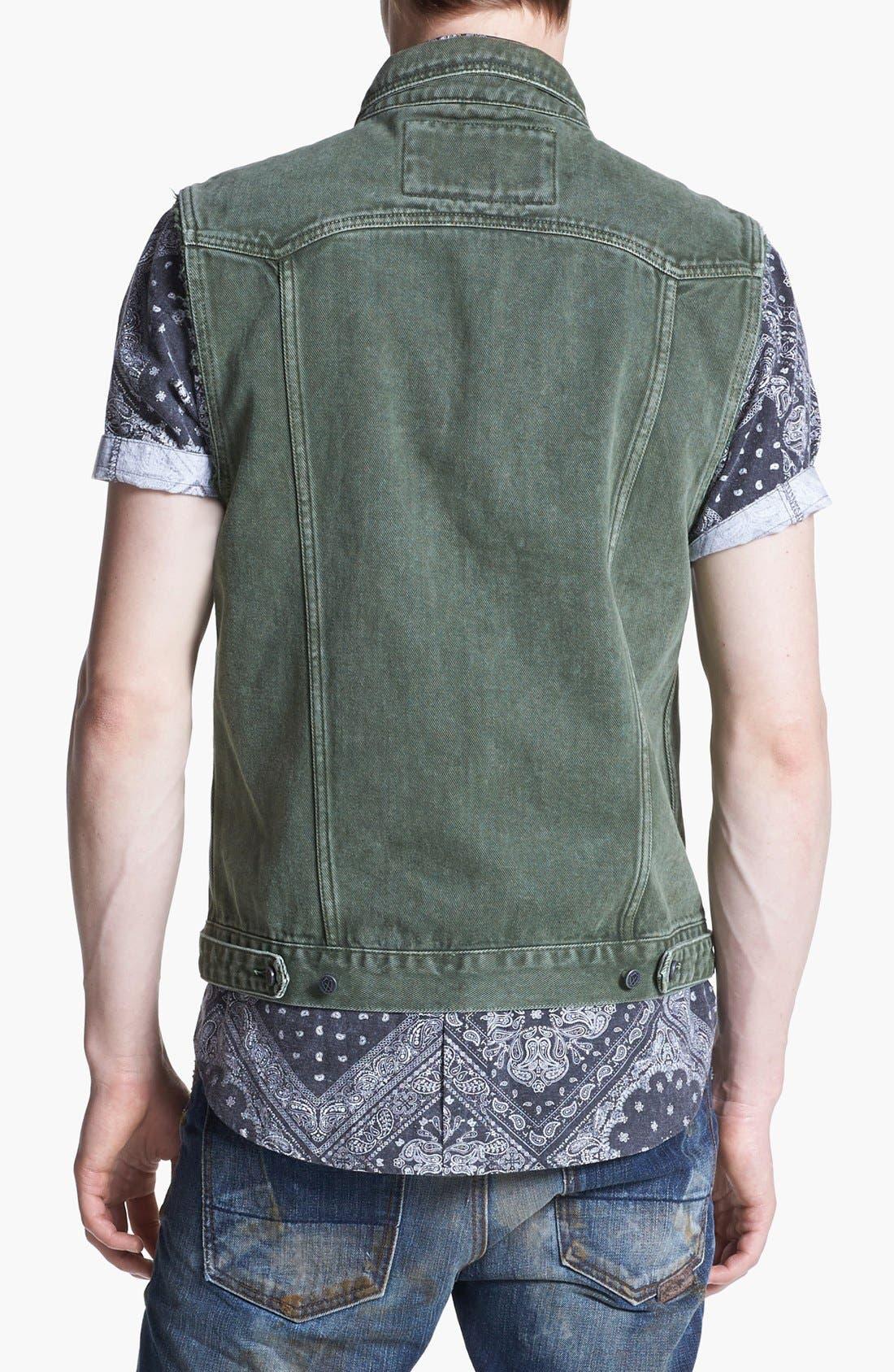 Alternate Image 2  - ZANEROBE 'DiMarco' Denim Vest