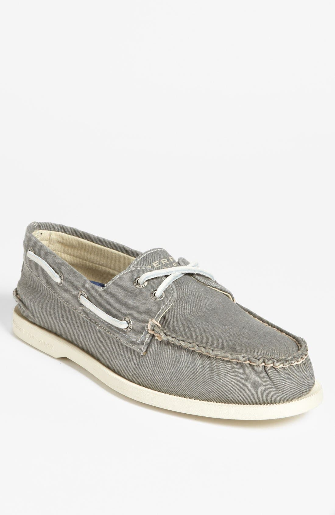 Alternate Image 1 Selected - Sperry Top-Sider® 'Authentic Original' Canvas Boat Shoe