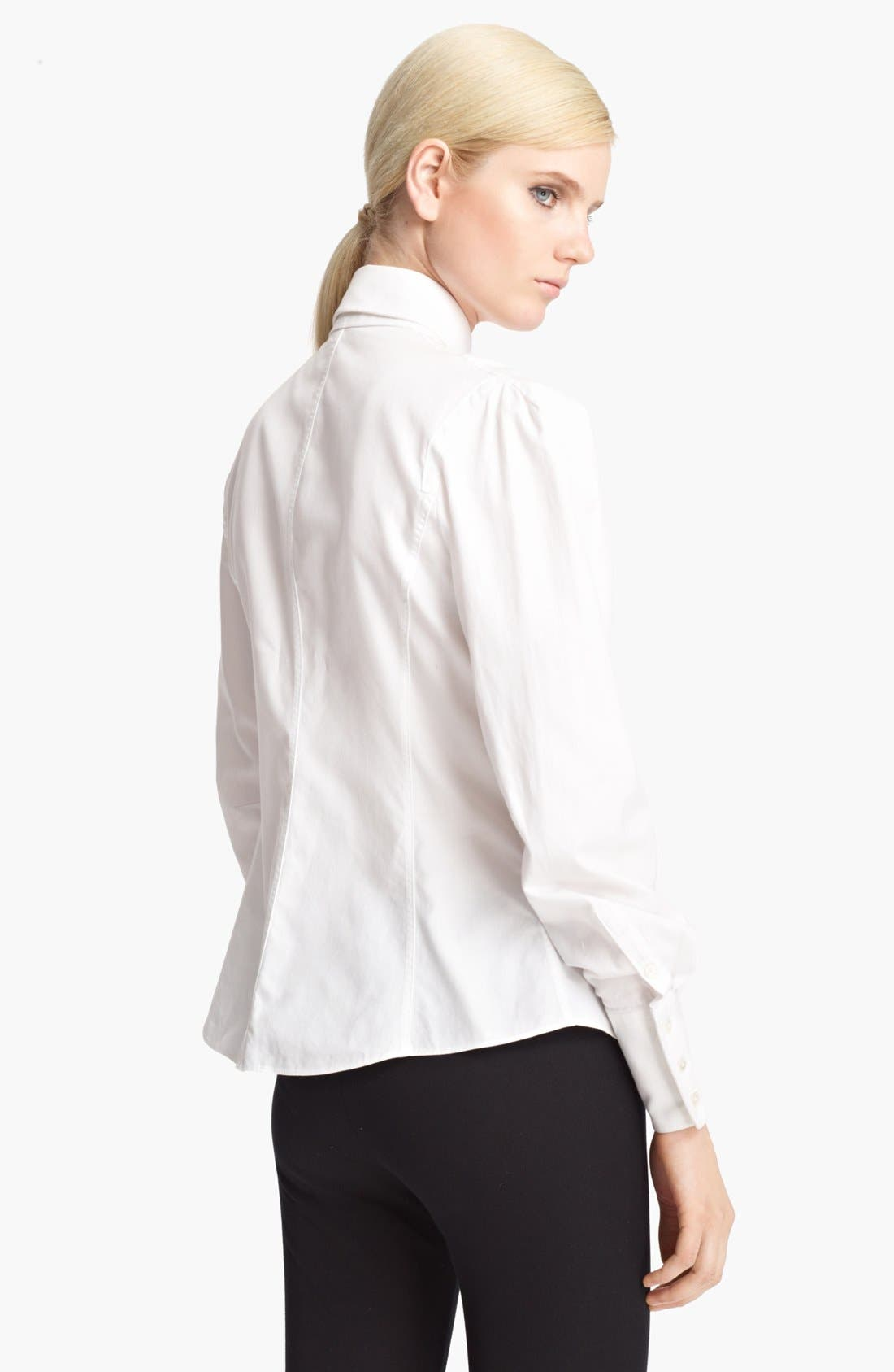 Alternate Image 2  - Jason Wu Pintuck Twill Blouse