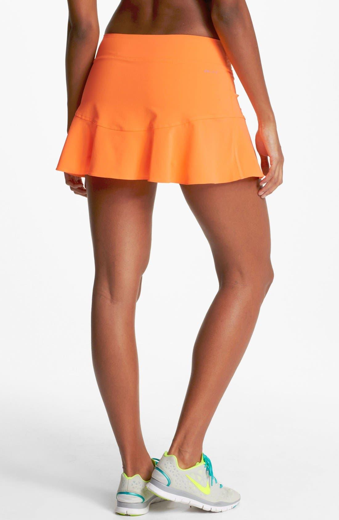 Alternate Image 2  - Nike Flouncy Woven Tennis Skirt