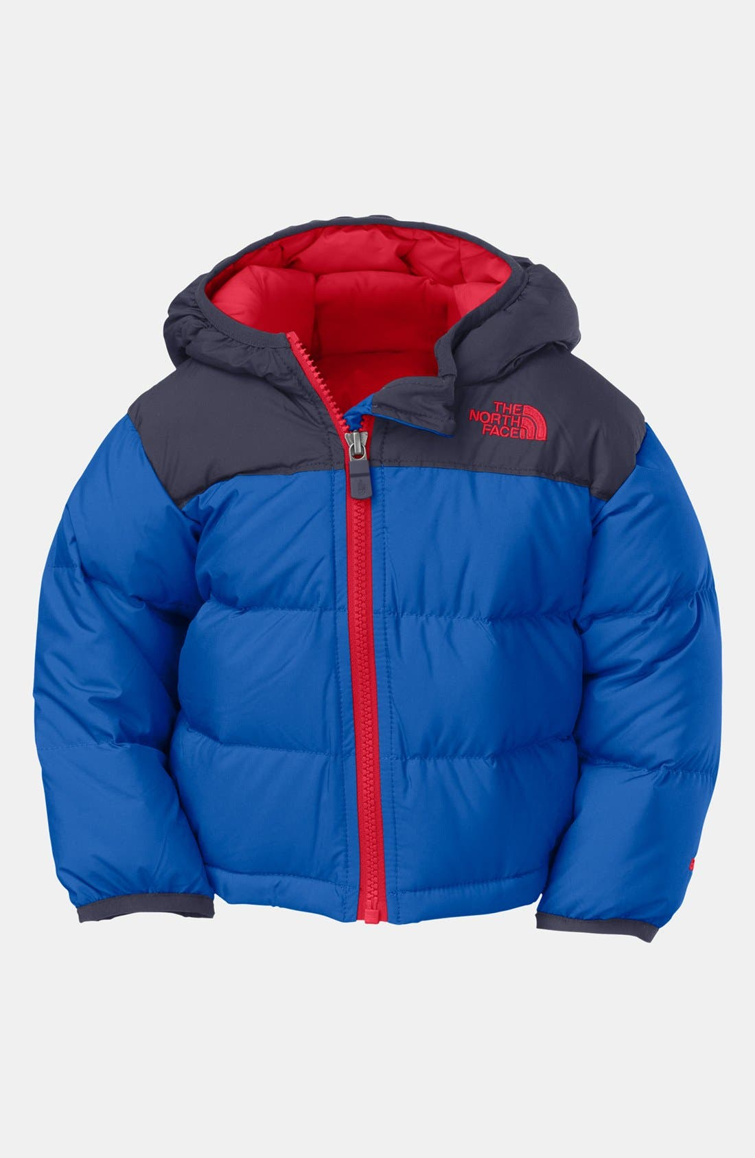 Alternate Image 1 Selected - The North Face Down Jacket & Joe's Straight Leg Jeans (Baby Boys)