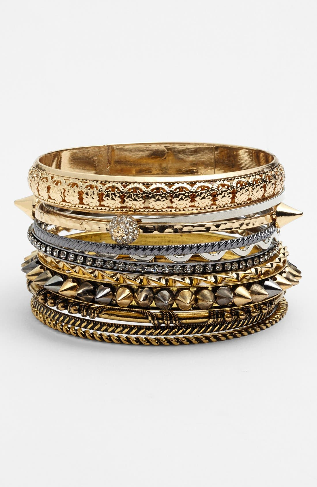 Main Image - Natasha Couture Bangles (Set of 12)