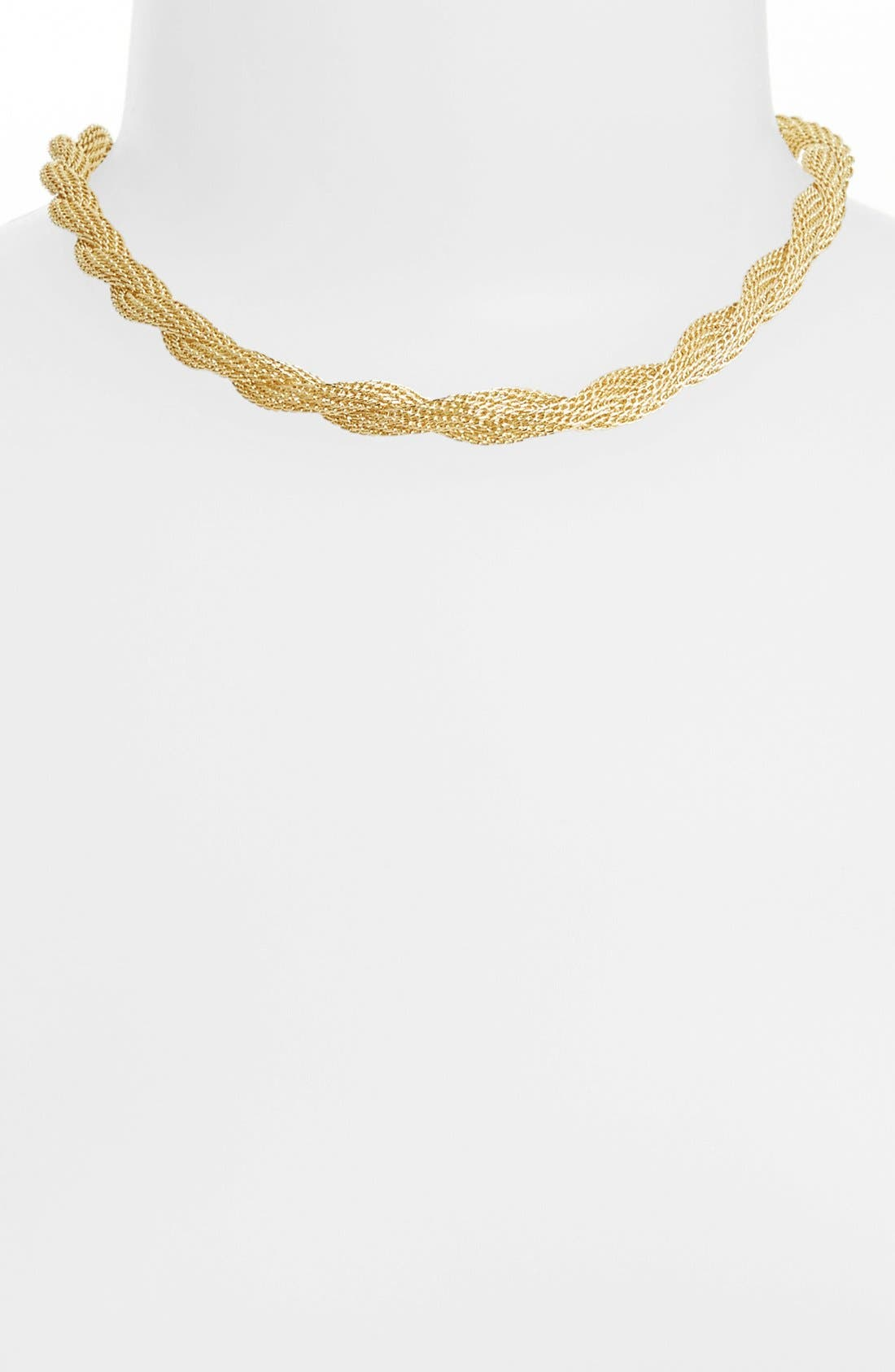 Alternate Image 2  - Anne Klein Twisted Collar Necklace