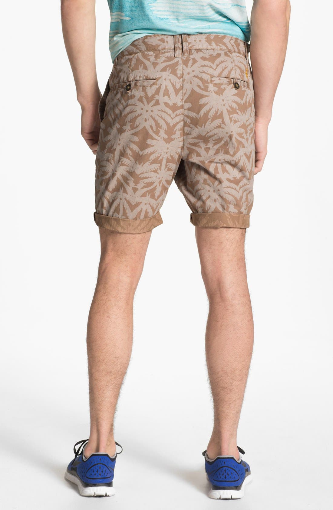 Alternate Image 2  - Original Penguin Palm Print Shorts