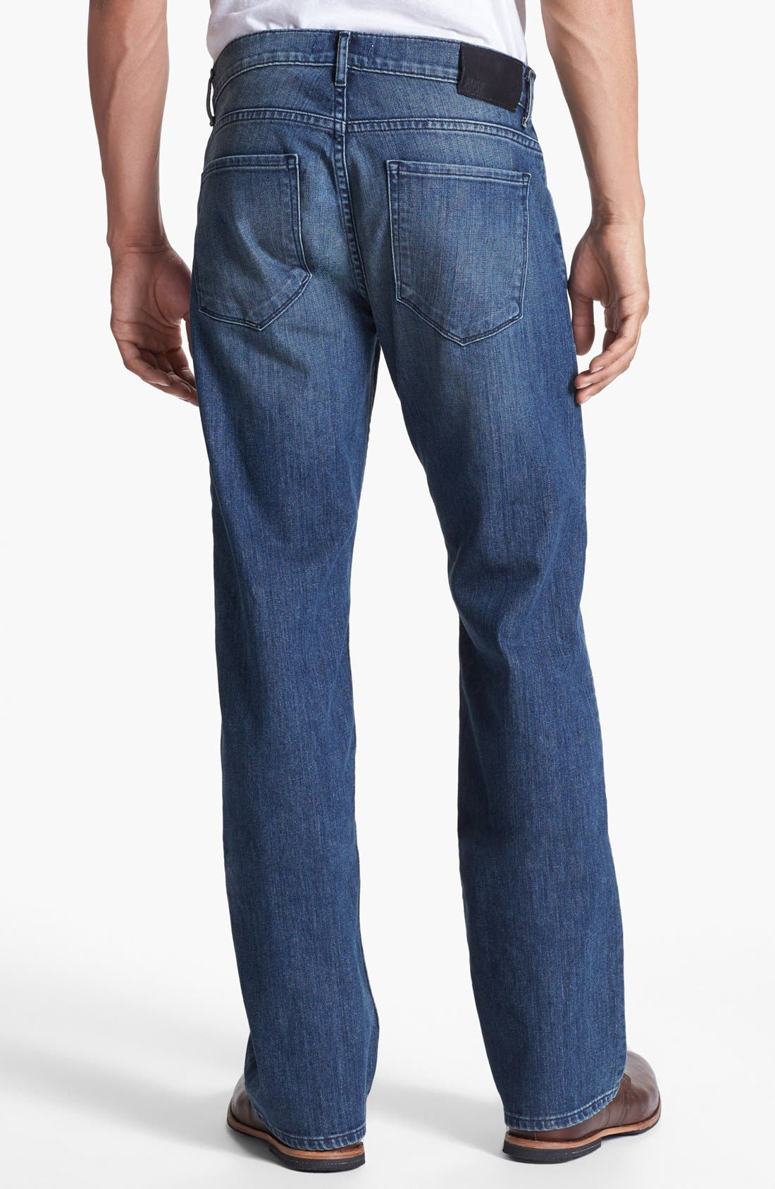 Main Image - Paige 'Doheny' Straight Leg Jeans (Winston)