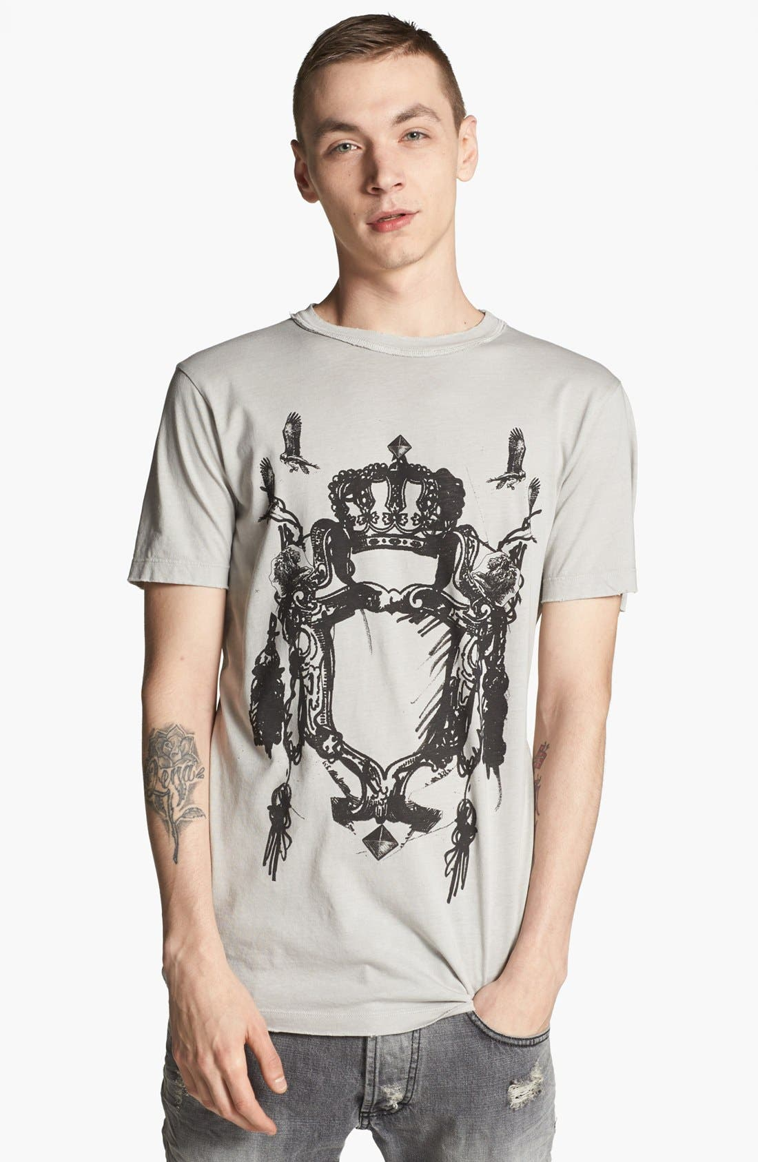 Alternate Image 1 Selected - Pierre Balmain 'Crown Crest' T-Shirt (Online Only)