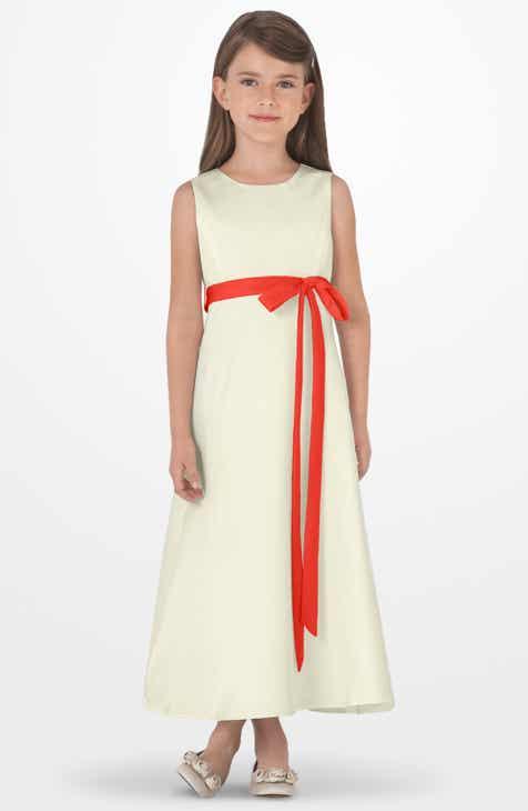 Us Angels Sleeveless Satin Dress (Toddler Girls 4b126dfba5c8