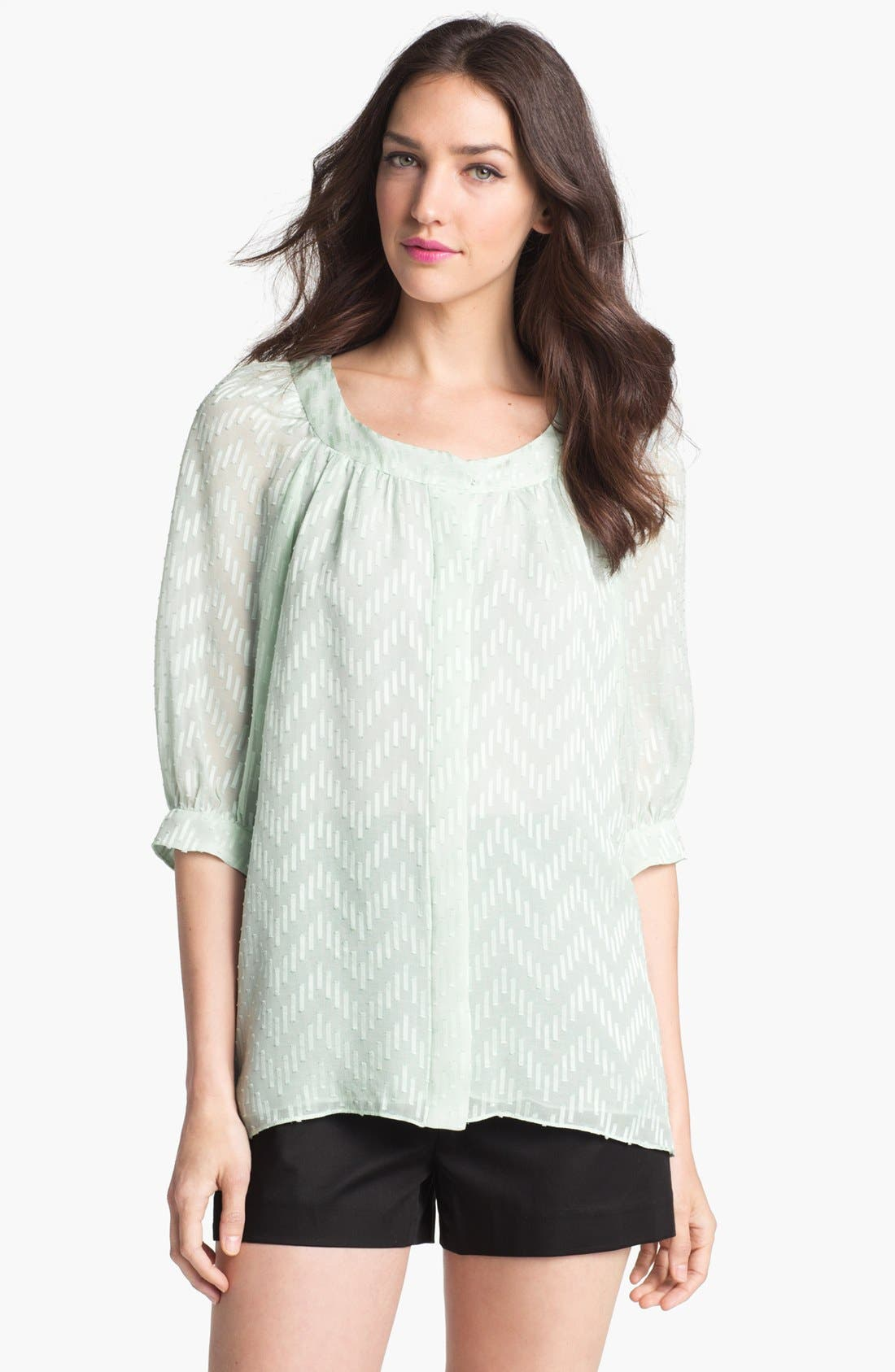 Main Image - Milly 'Heather' Silk Blouse