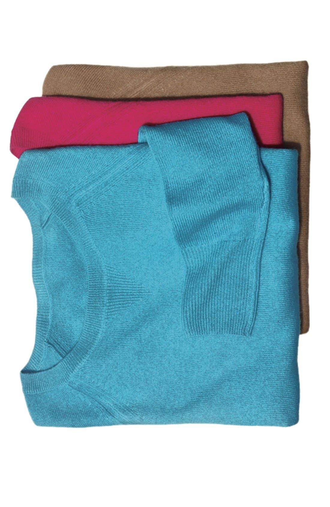 Alternate Image 4  - Halogen® Raglan Sleeve Cashmere Sweater