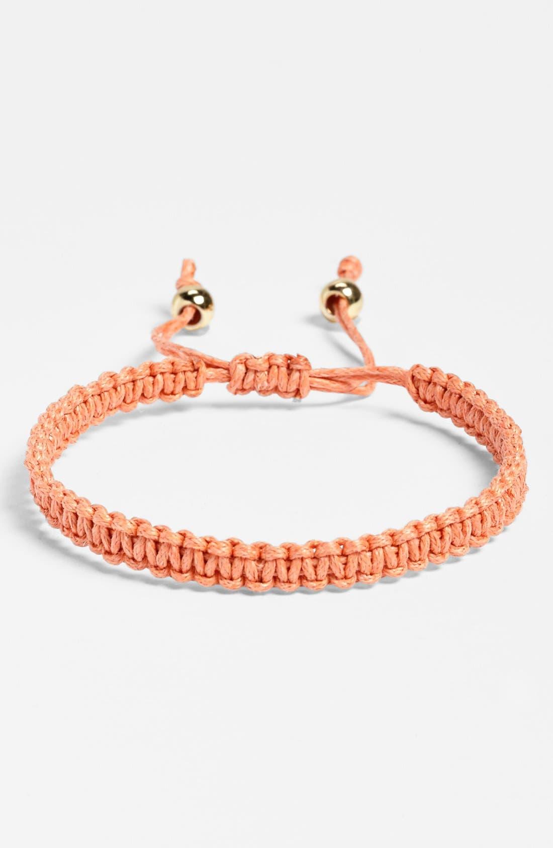 Alternate Image 1 Selected - Carole Woven Bracelet (Juniors)