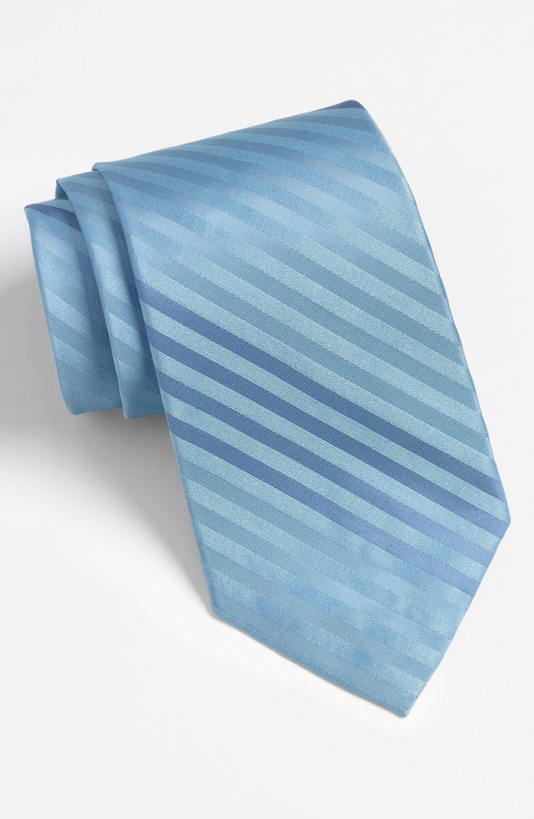 Alternate Image 1 Selected - Calvin Klein Woven Silk Tie