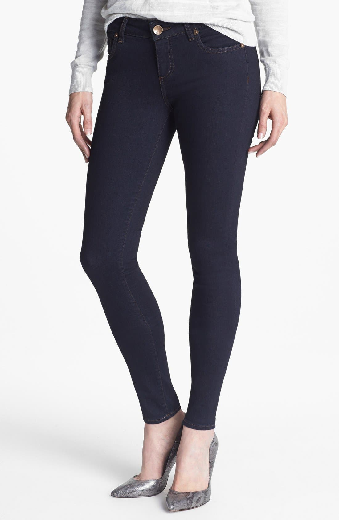 'Mia' Skinny Jeans,                             Main thumbnail 1, color,                             Outspoken Wash