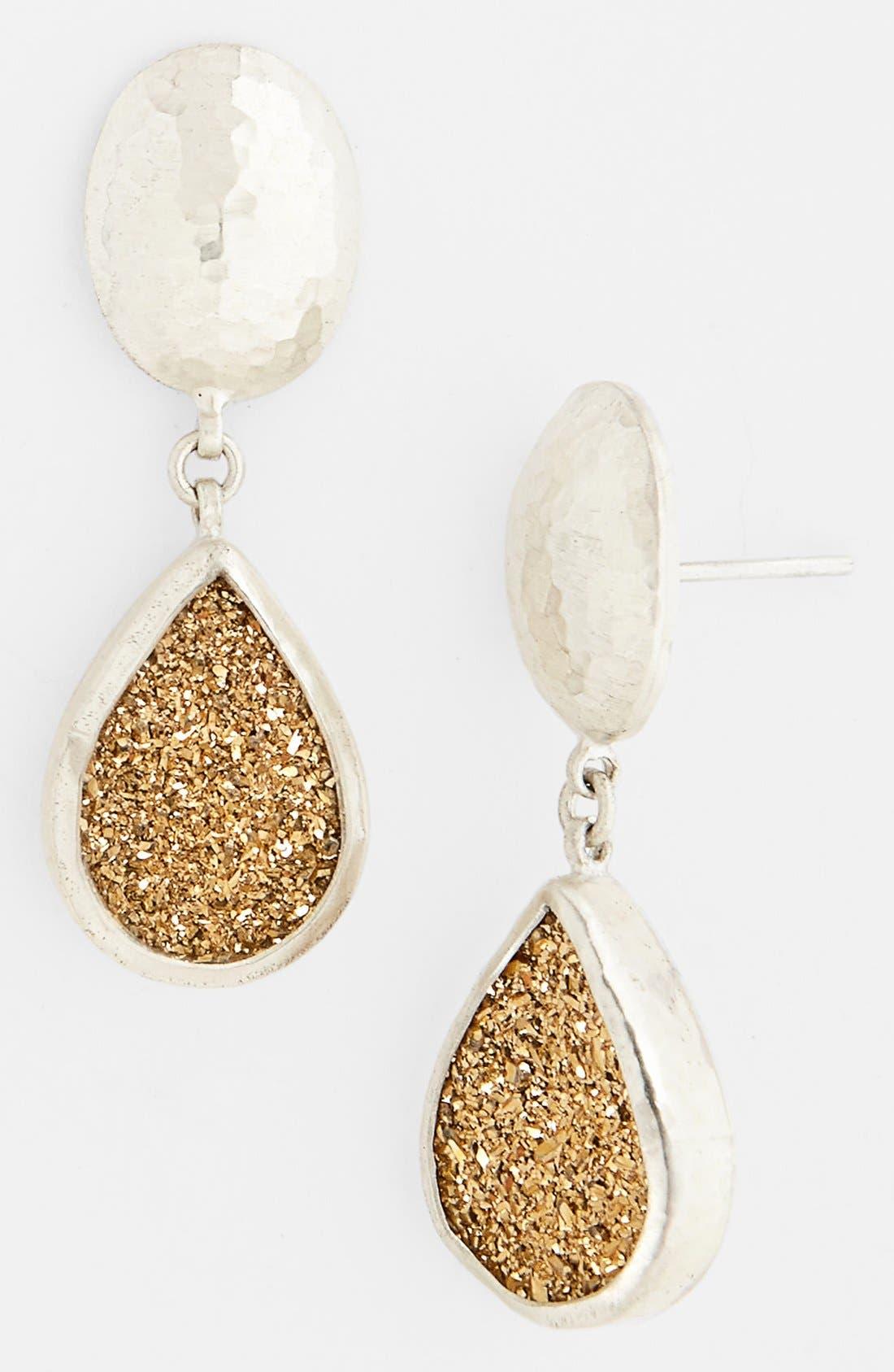 Alternate Image 1 Selected - Gurhan 'Galaxy' Drusy Drop Earrings